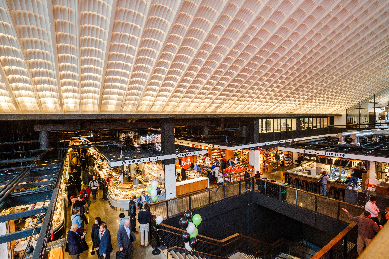 Inside Essex Market's Sprawling, Stunning New Lower East Side Home