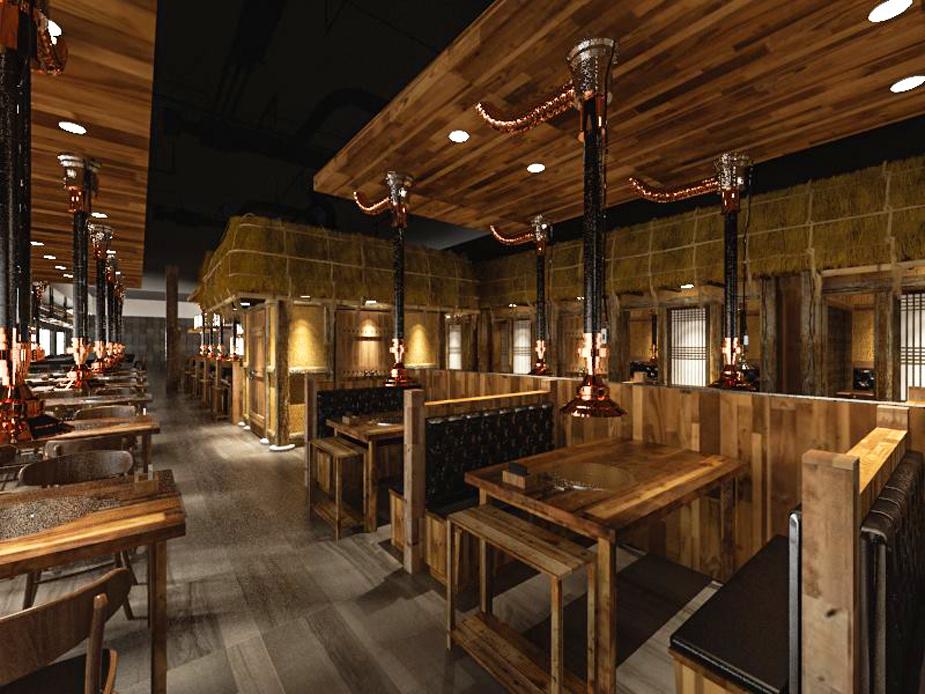 Chosun Hwaro Korean BBQ rendering