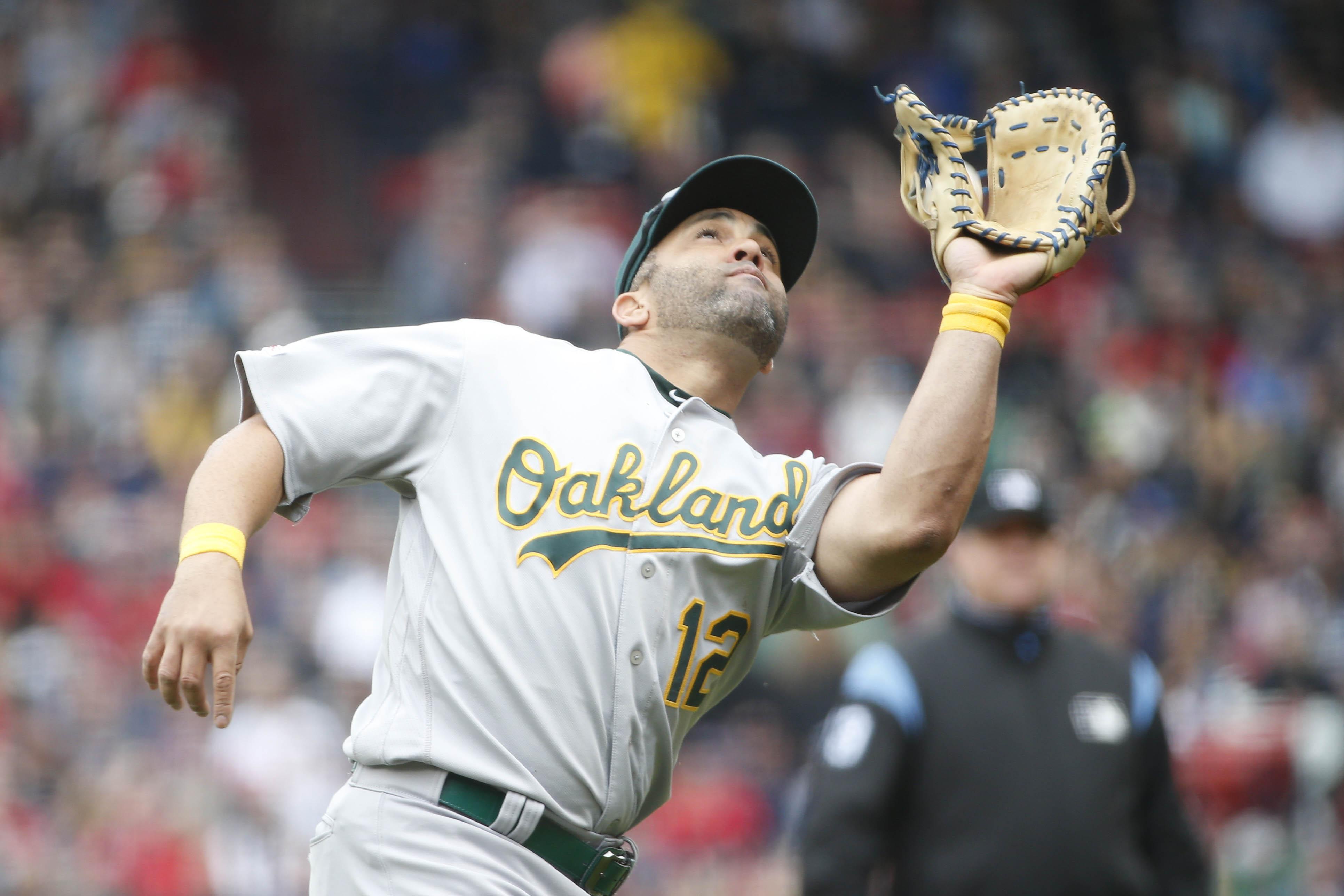 MLB: Oakland Athletics at Boston Red Sox