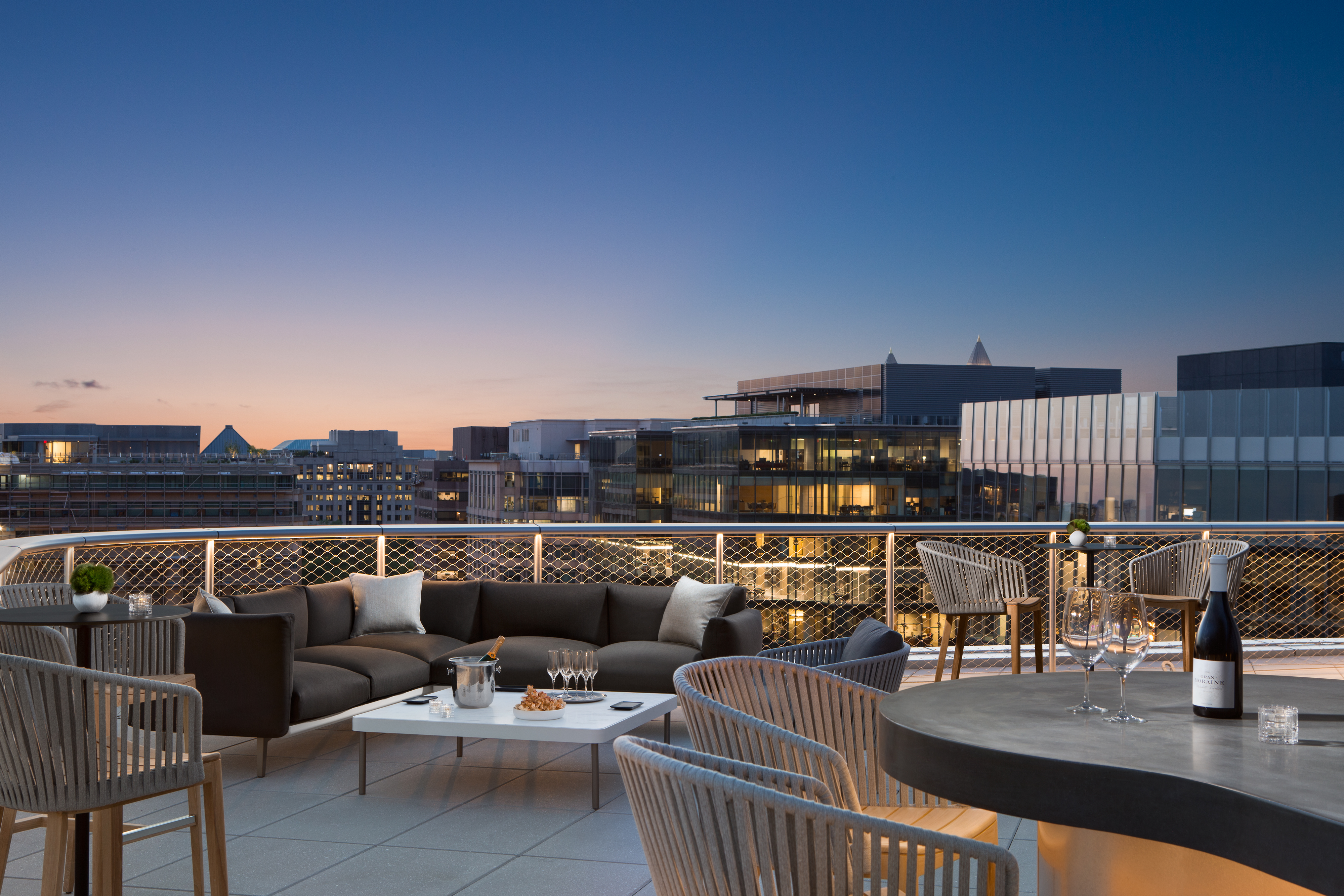 CityCenter's Swanky New Hotel Opens a Rooftop Bar Next Week