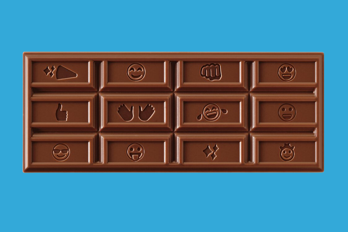 Hershey's First Chocolate Bar Redesign in 125 Years Is for the Texting Generation