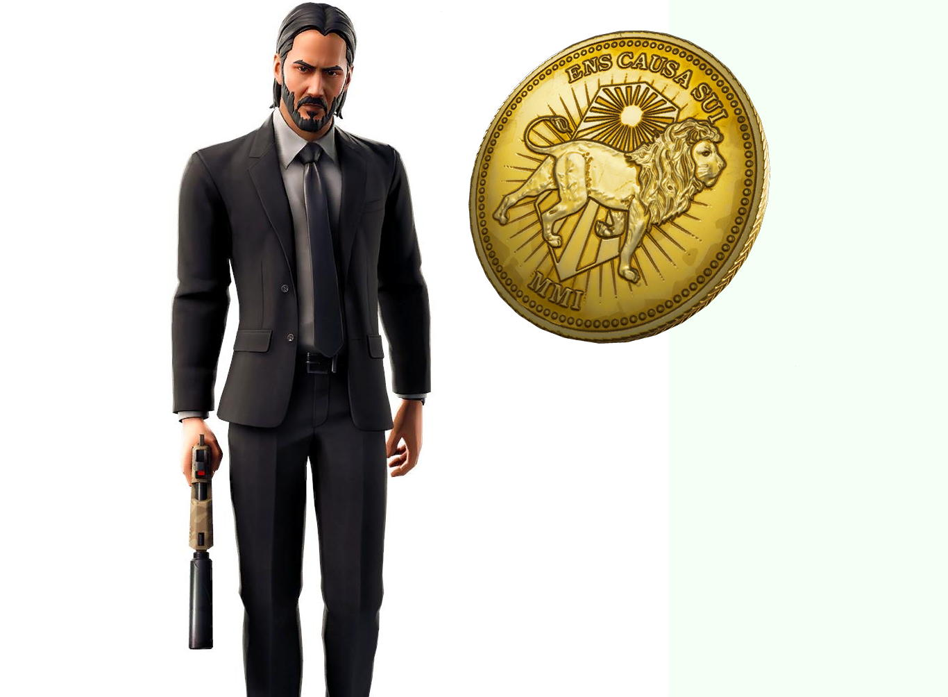 Here's the John Wick skin coming soon to Fortnite