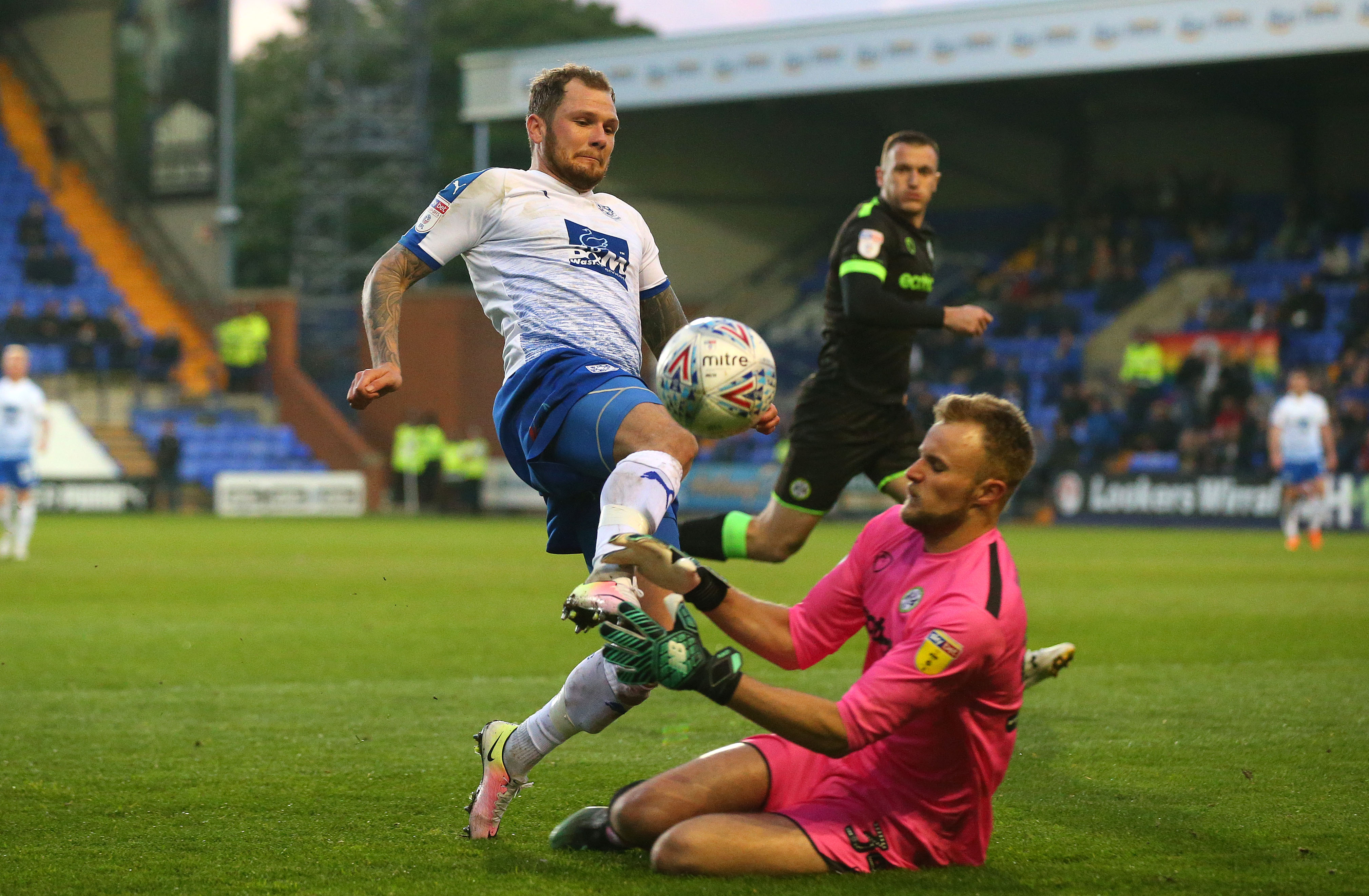 Tranmere Rovers v Forest Green - Sky Bet League Two Play-off Semi Final: First Leg