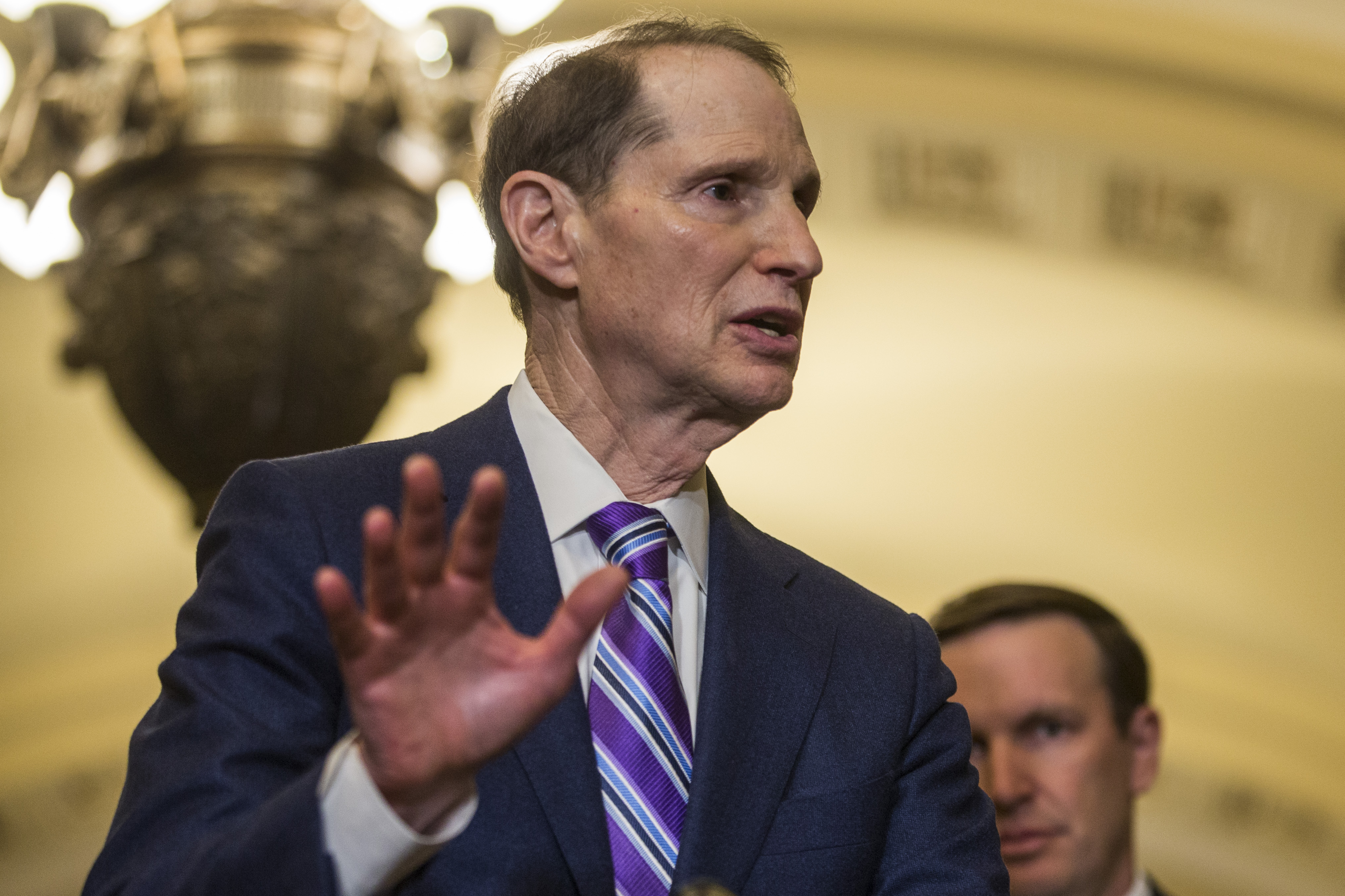 Ron Wyden wrote the law that built the internet. He still stands by it — and everything it's brought with it.