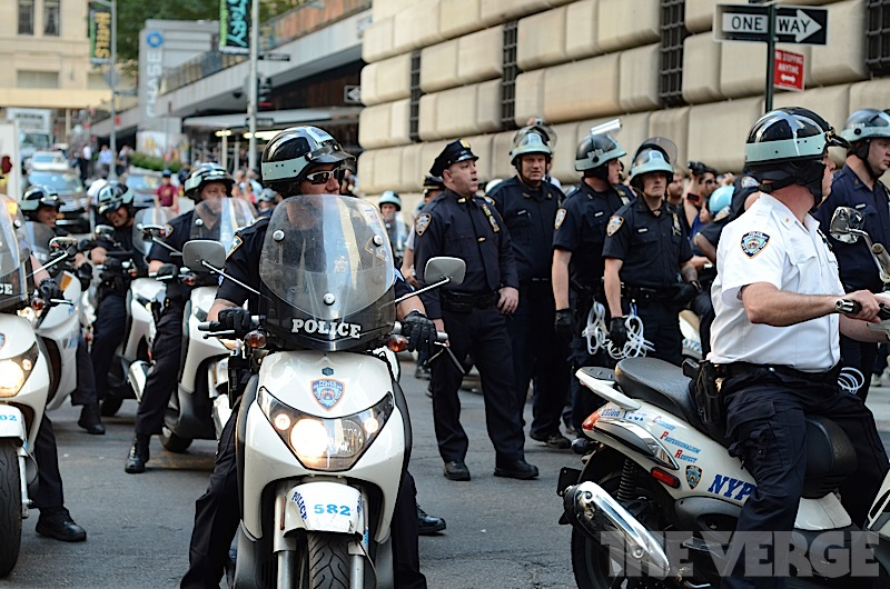 NYPD at Occupy