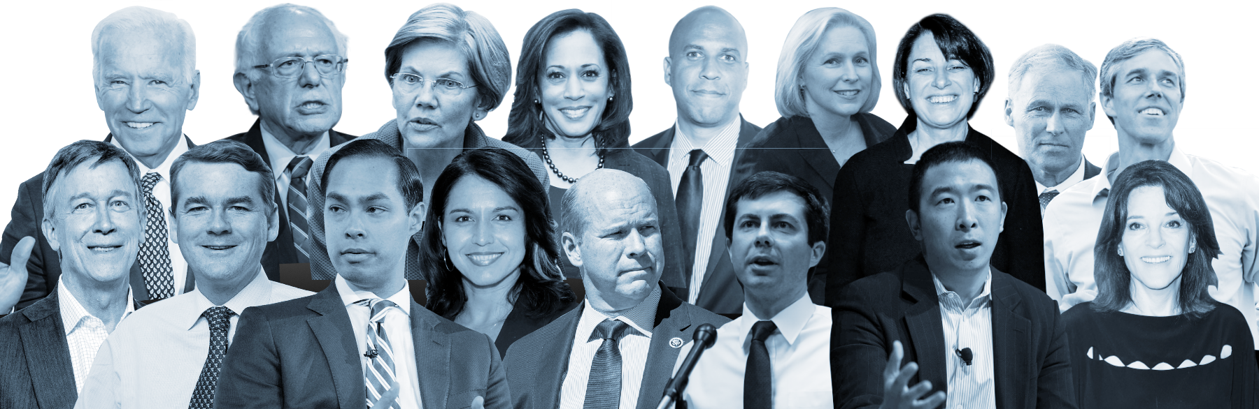 Why so many Democrats are running for president