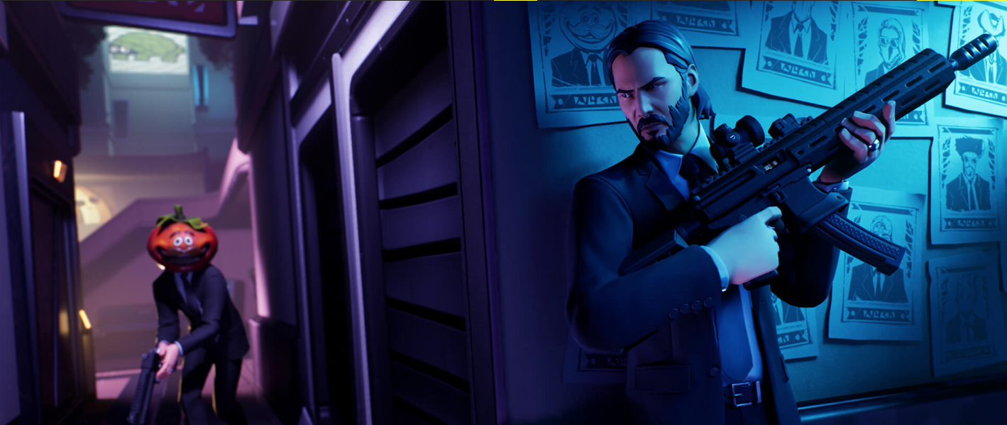 Fortnite's John Wick mode is live