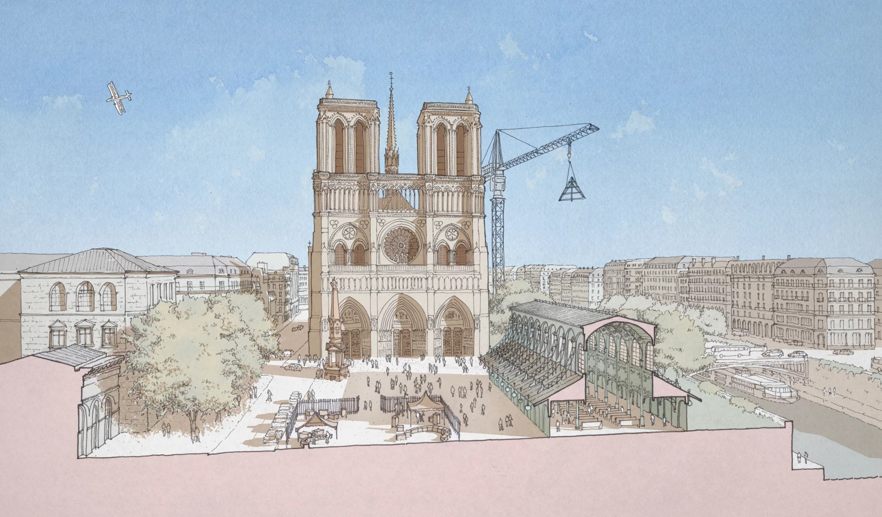 Atlanta architects pitch vision for restored Notre Dame Cathedral