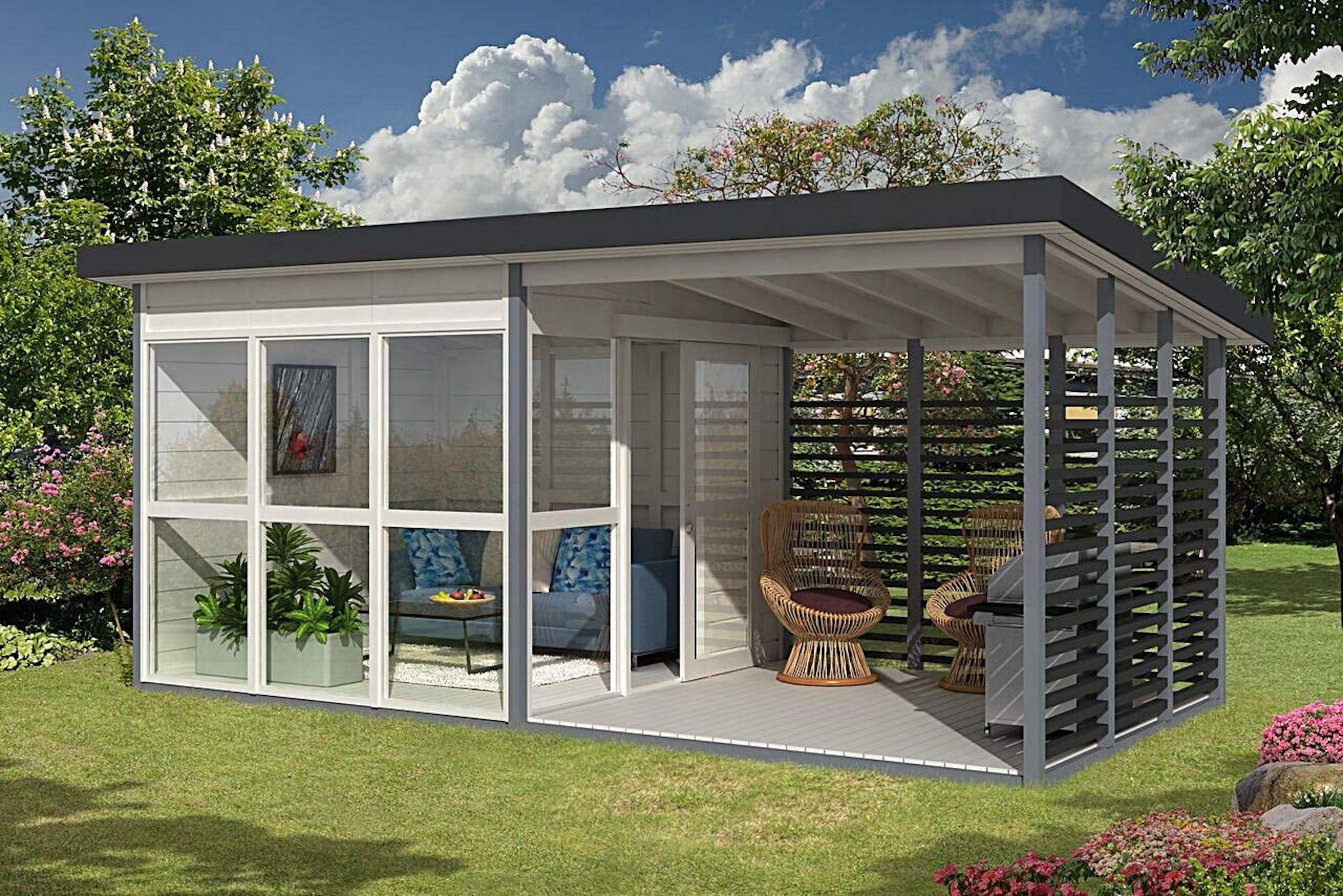 Astonishing Amazons Viral 7K Tiny House Is Back In Stock Curbed Home Interior And Landscaping Ologienasavecom