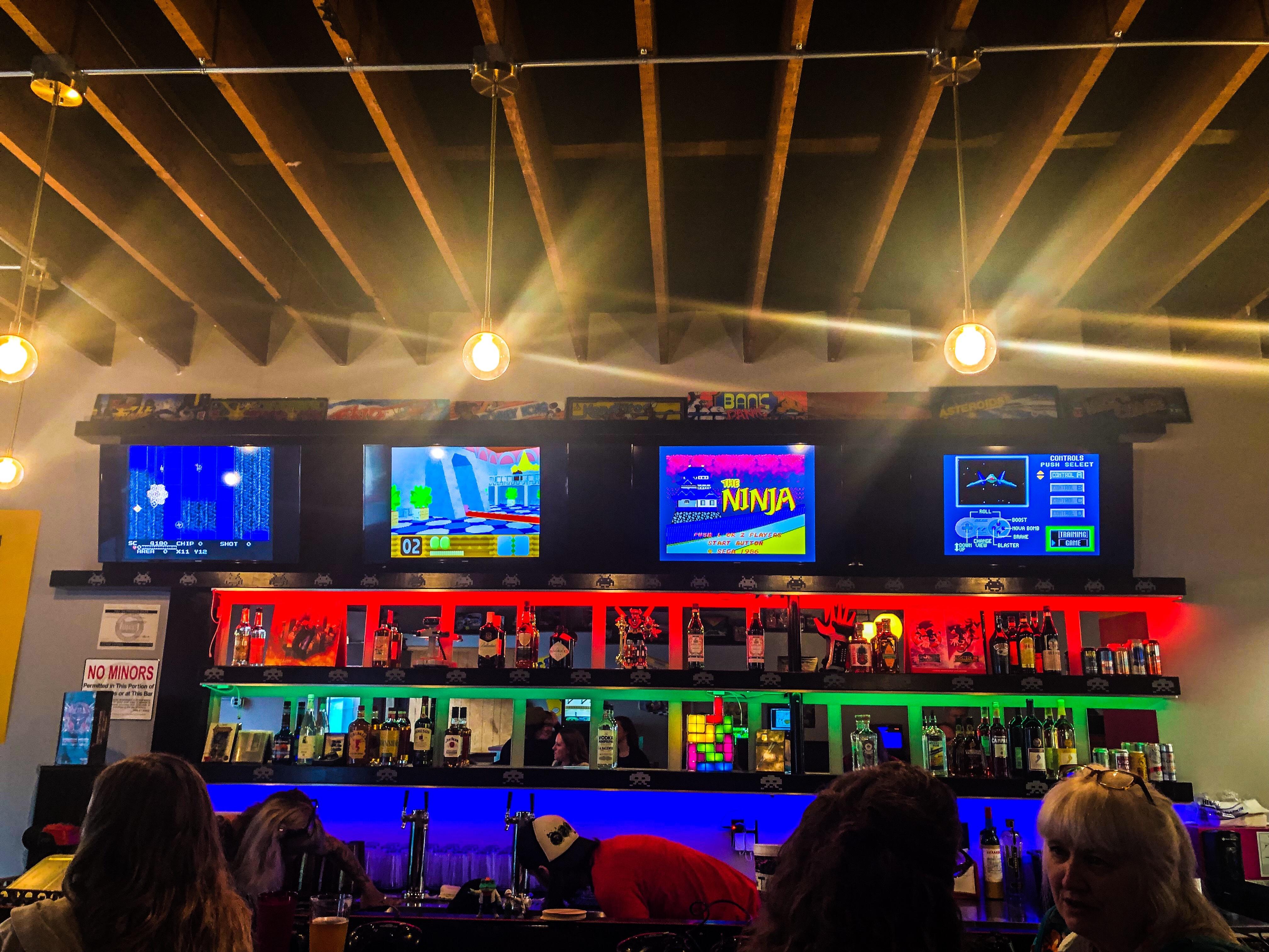 Retro Game Bar Is Opening Its Doors Tonight in Northeast Portland