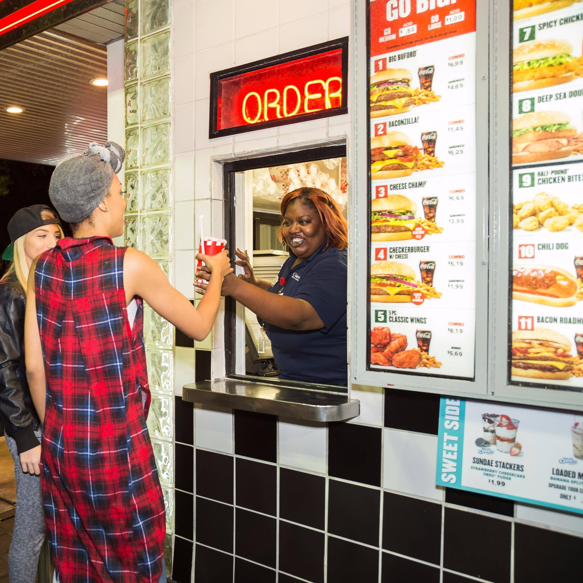 Six Checkers Locations Close Abruptly in Las Vegas