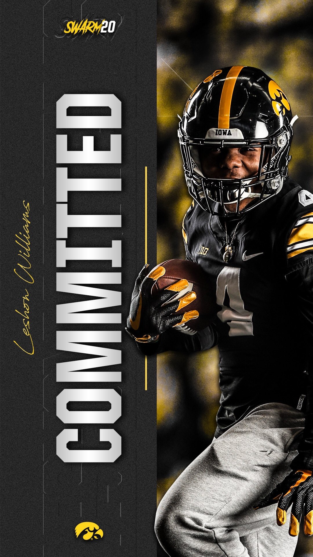 0a2a58bf4d6 Iowa Football Recruiting  Hawkeyes Land Commitment from Illinois Running  Back Leshon Williams