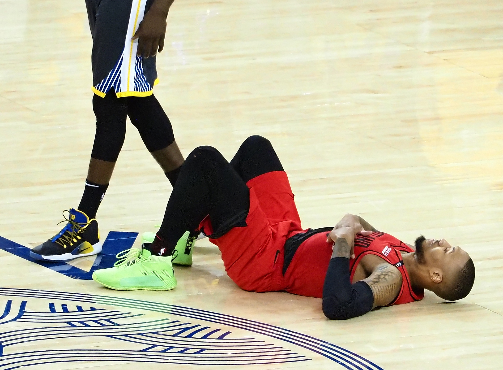 What's wrong with Damian Lillard?