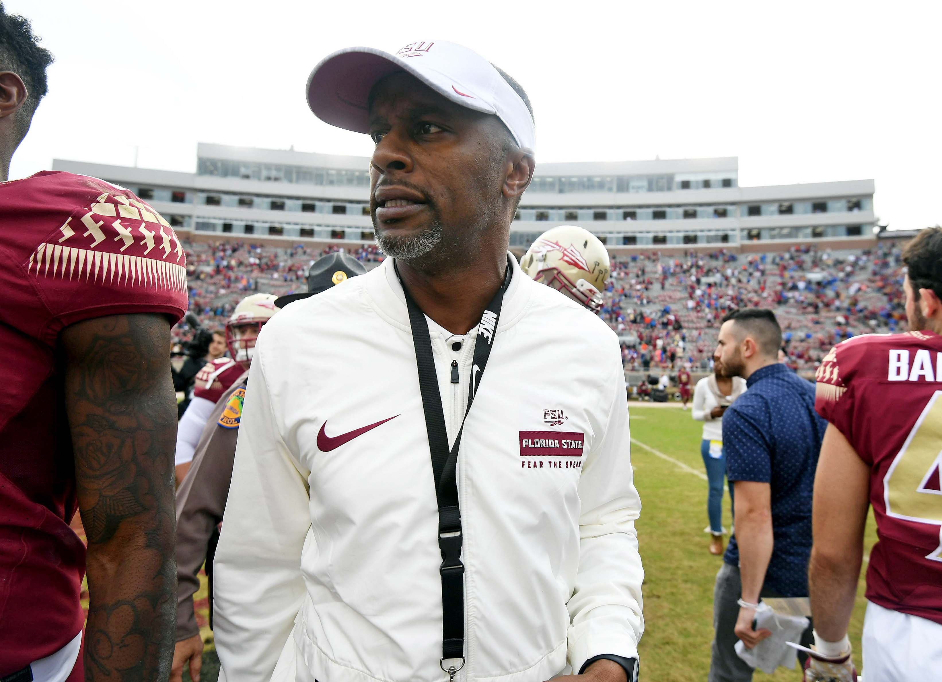 How does Florida State respond to its first losing season since 1976?