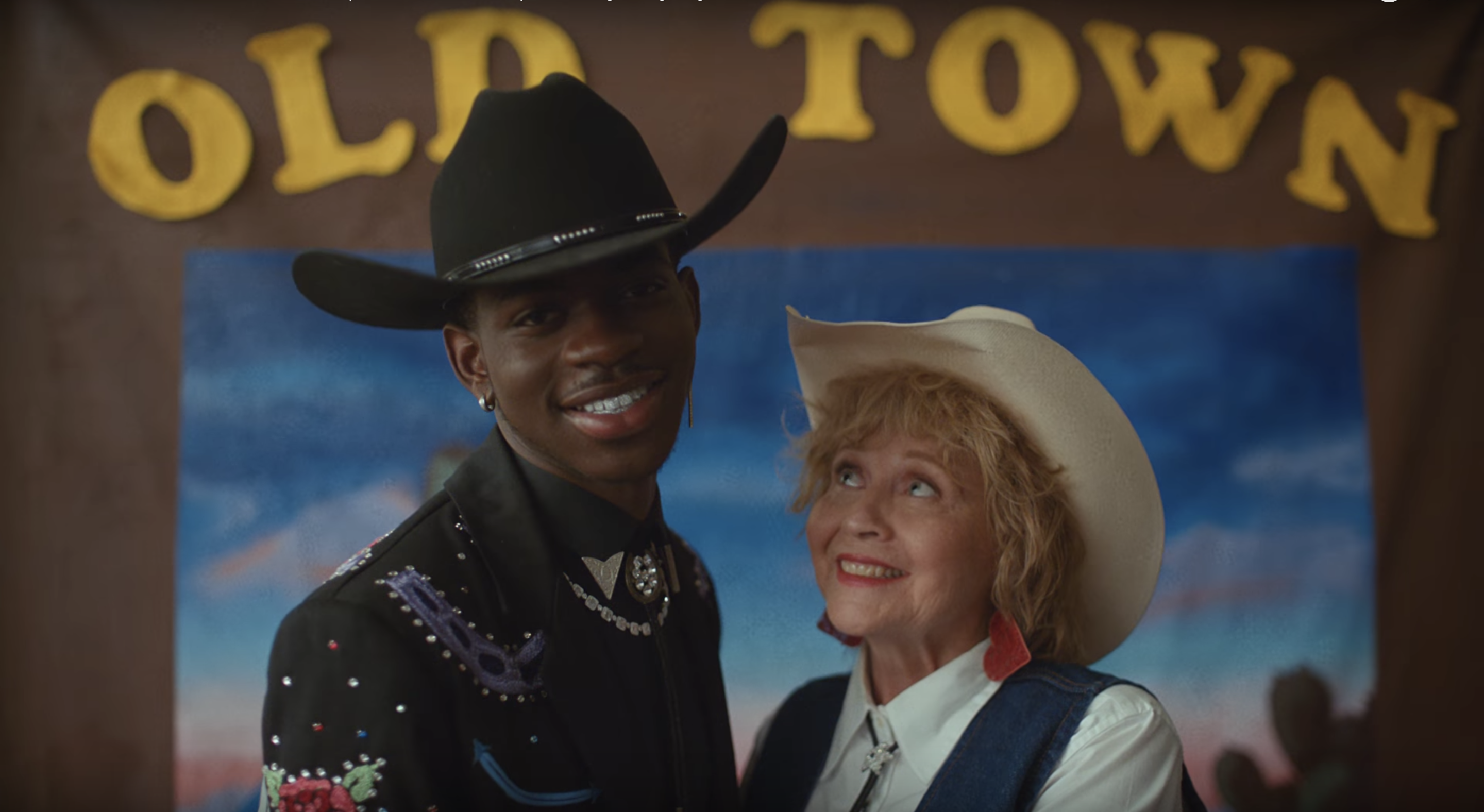 "Lil Nas X's ""Old Town Road"" music video is a time-traveling"