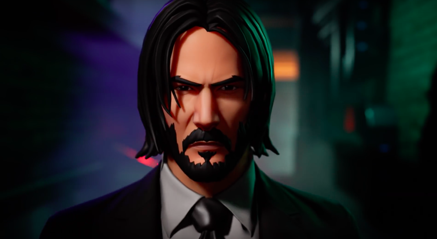 Fortnite's official John Wick skin has made things kinda awkward