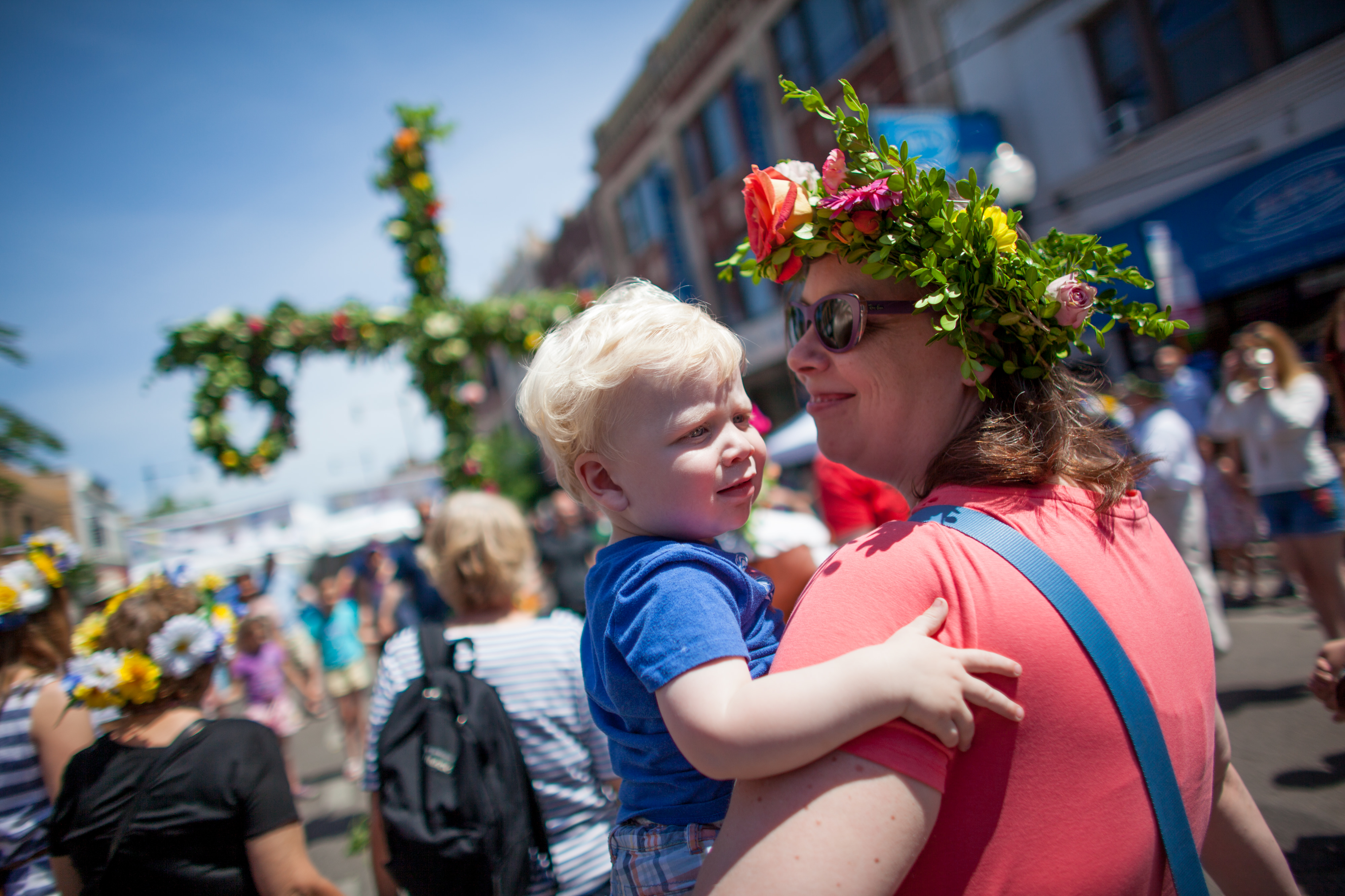 Andersonville's Midsommarfest is one of the most popular summer festivals in Chicago.   Photo Courtesy Starbelly Studios