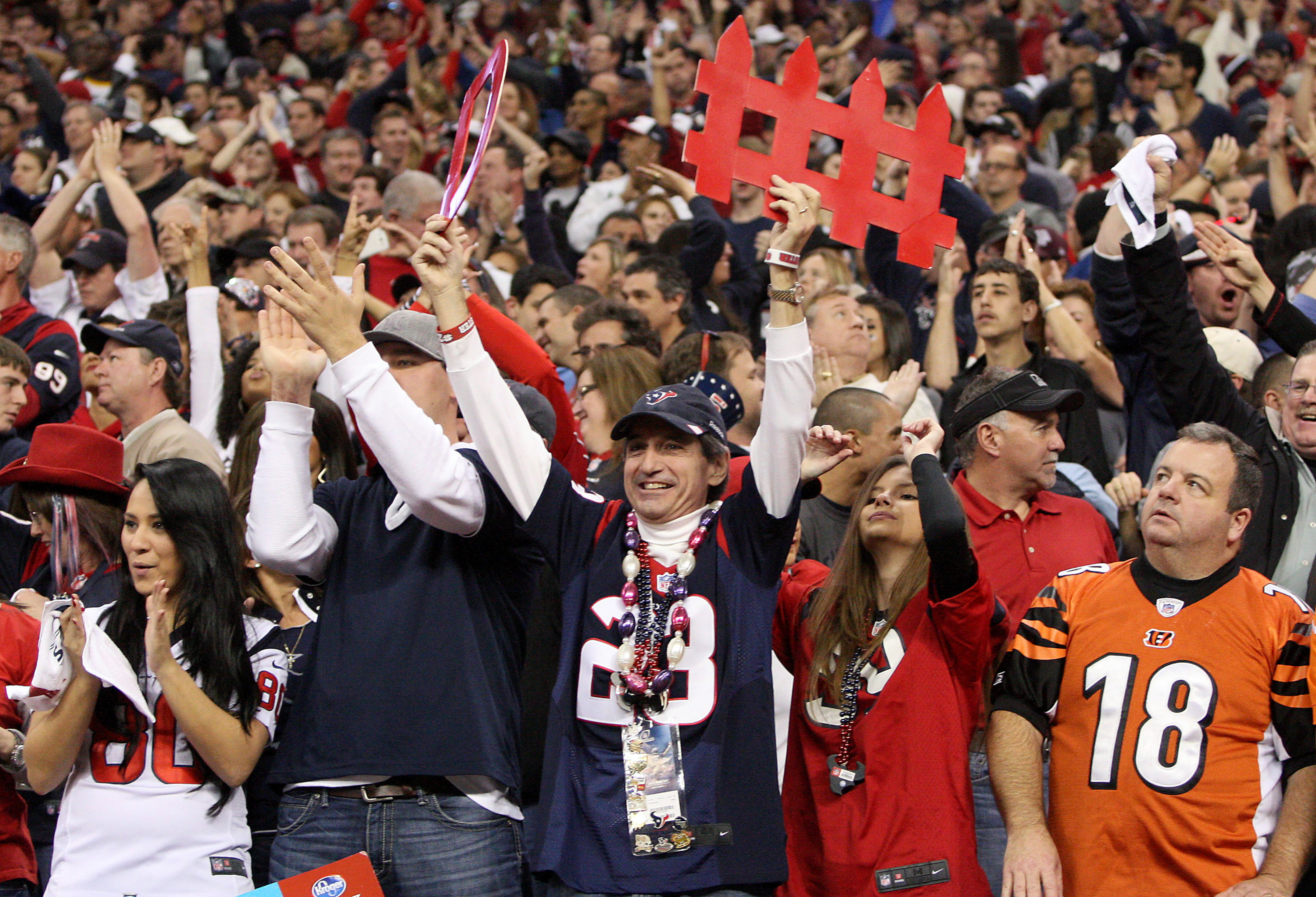 The Texans will face a considerably more hostile environment on Sunday.