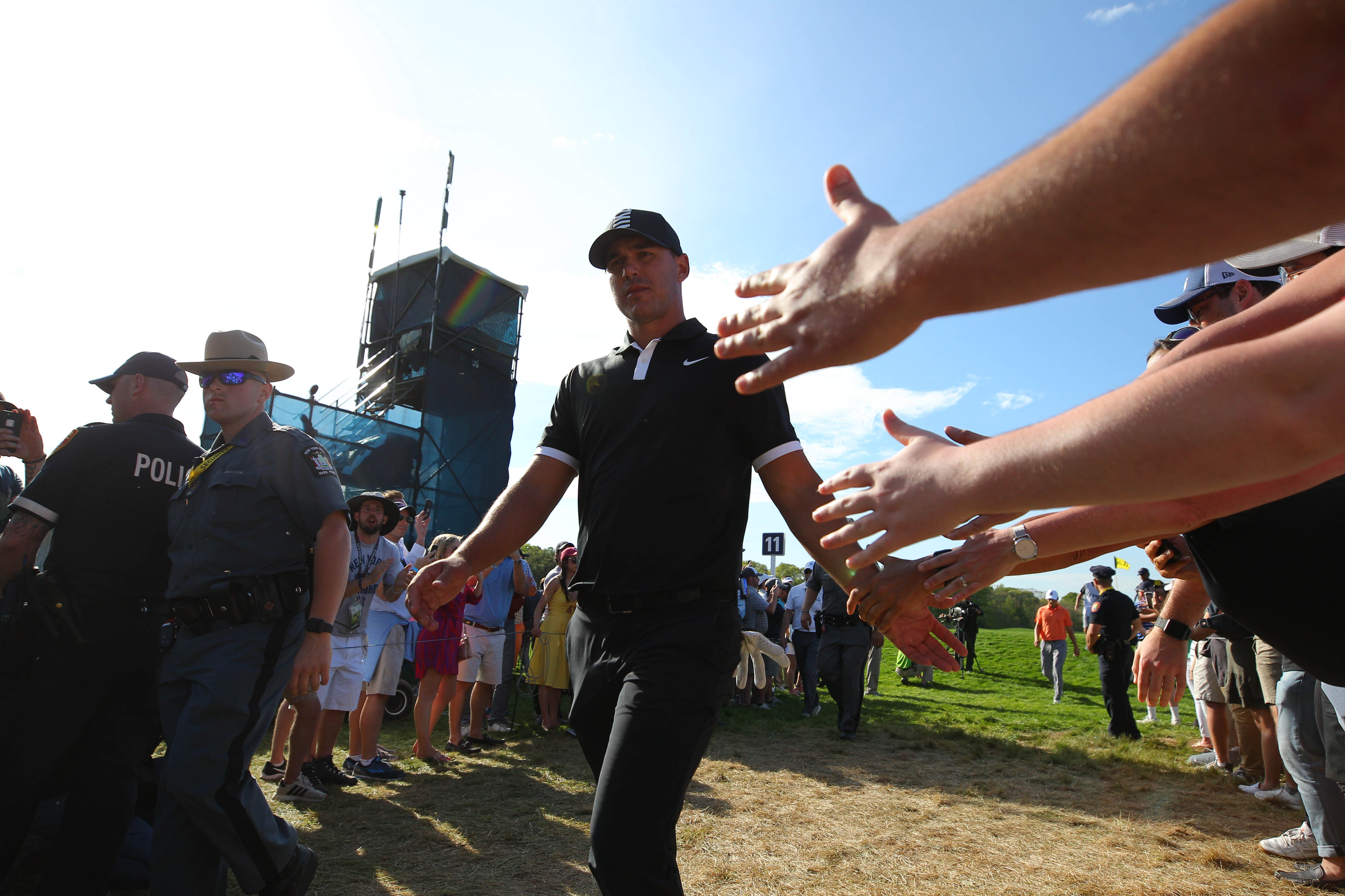 Sunday at the PGA will be a race for 2nd place thanks to Brooks Koepka