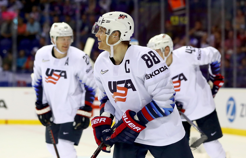 Denmark v United States: Group A - 2019 IIHF Ice Hockey World Championship Slovakia