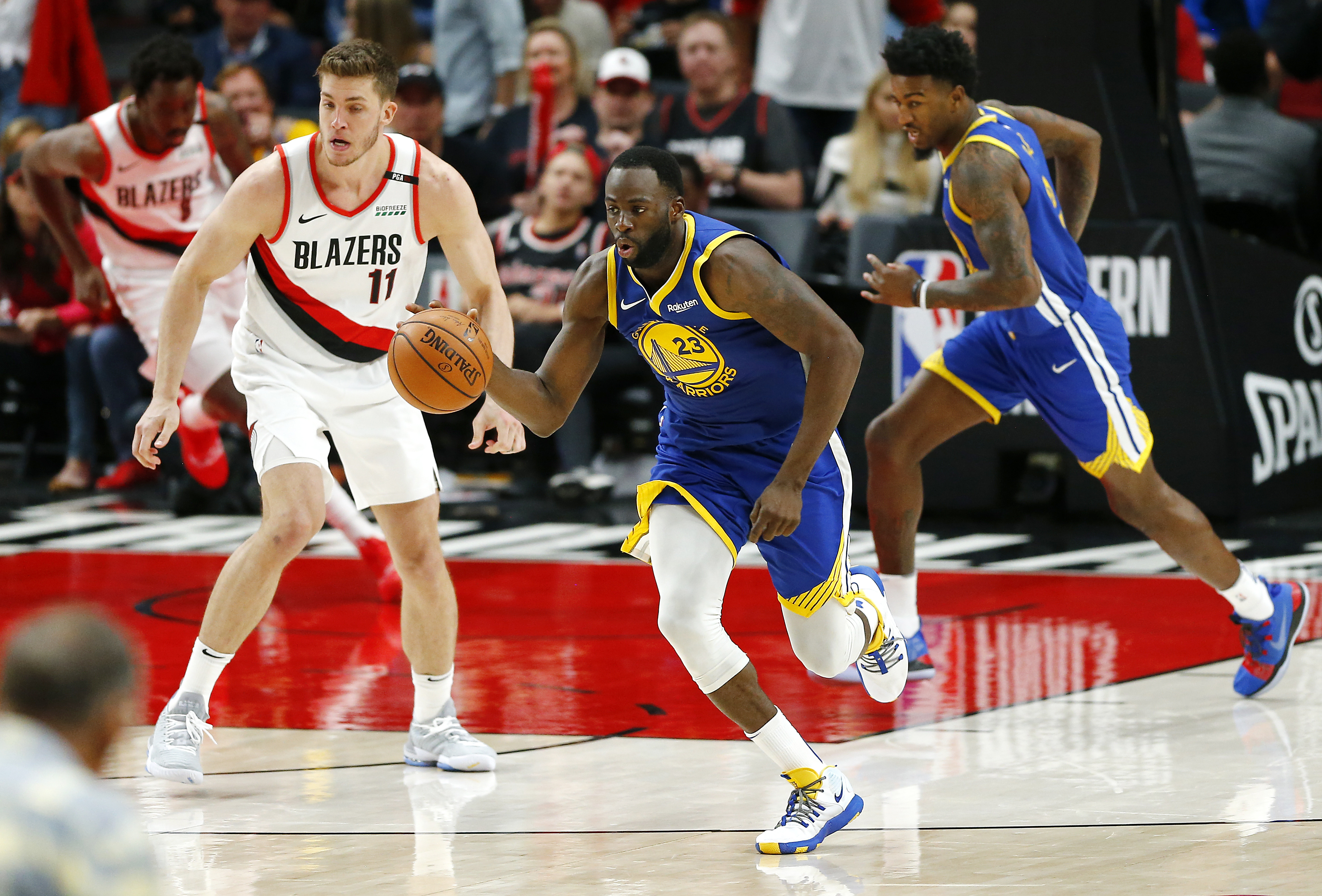 8e61c1c0d2b5 Winners and Losers  Draymond Green Is the Blazers  New Worst Nightmare