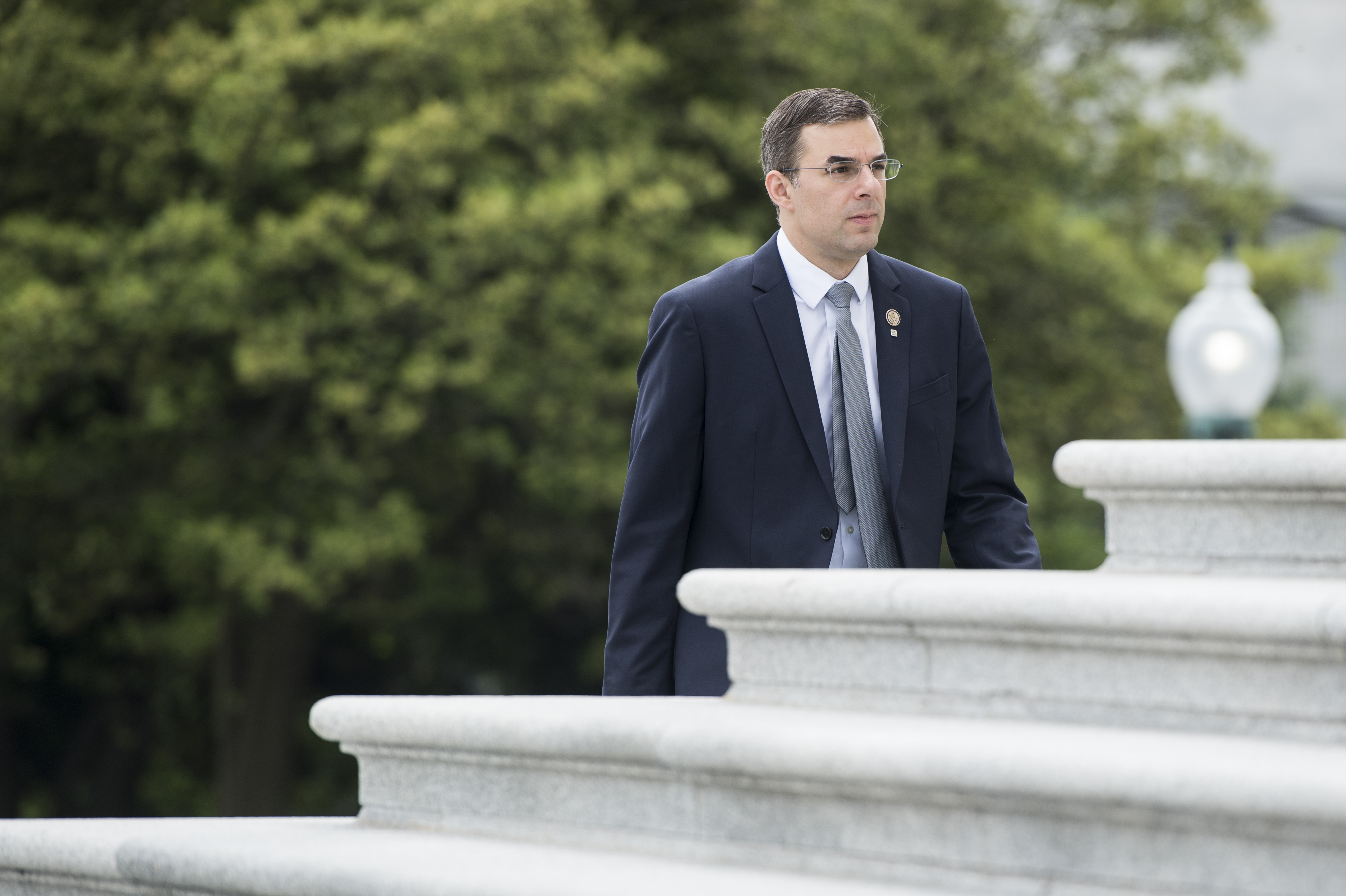 Rep. Justin Amash becomes the first Republican in Congress to call Trump's conduct impeachable