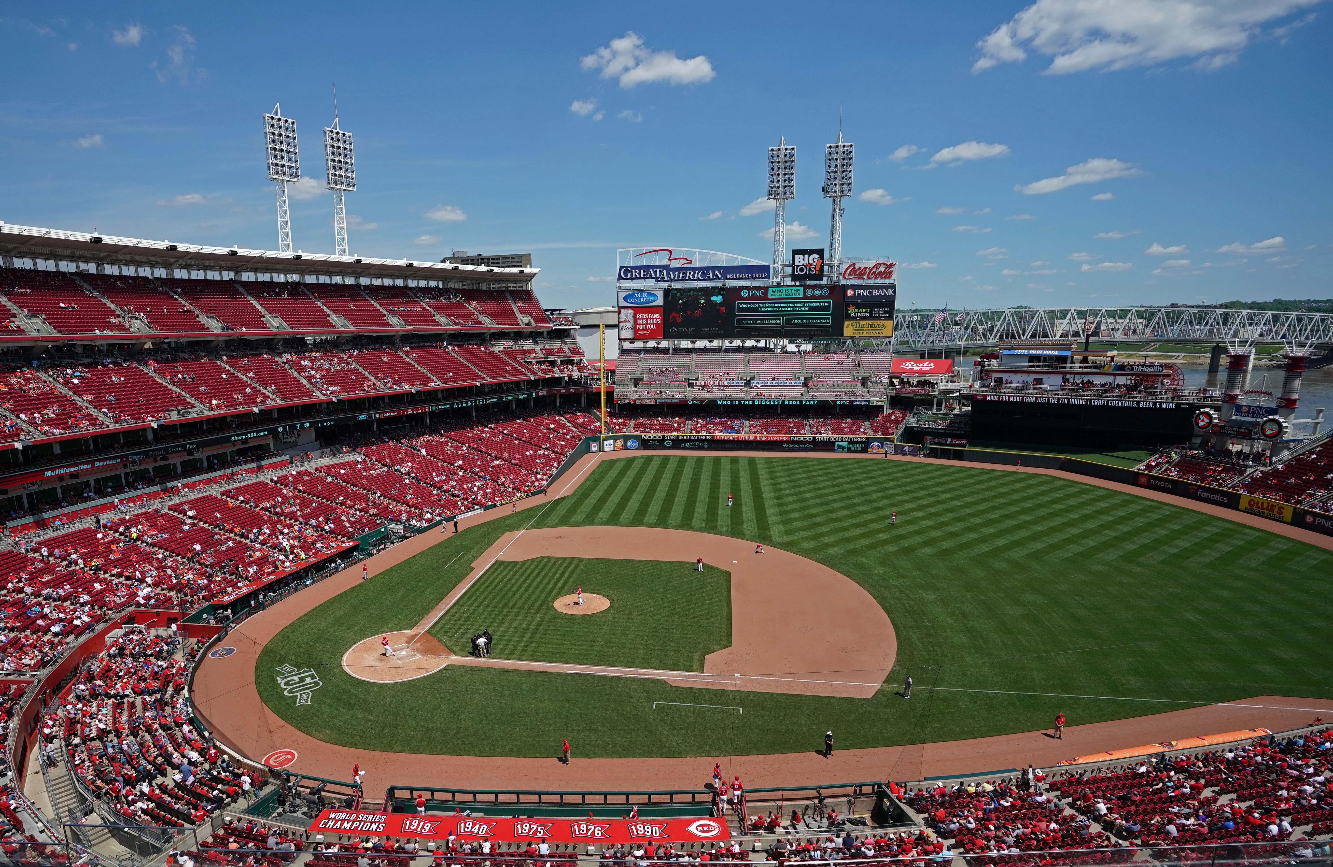 MLB: San Francisco Giants at Cincinnati Reds