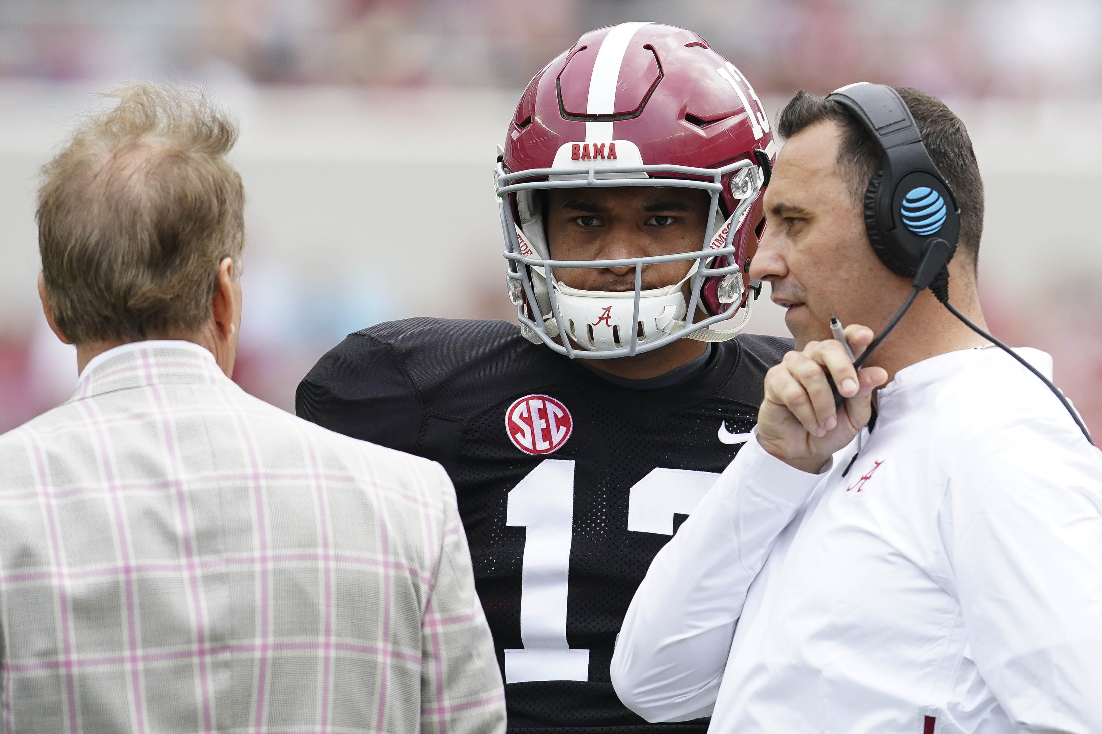 Alabama's passing game isn't broken, but Steve Sarkisian will try to fix it anyway