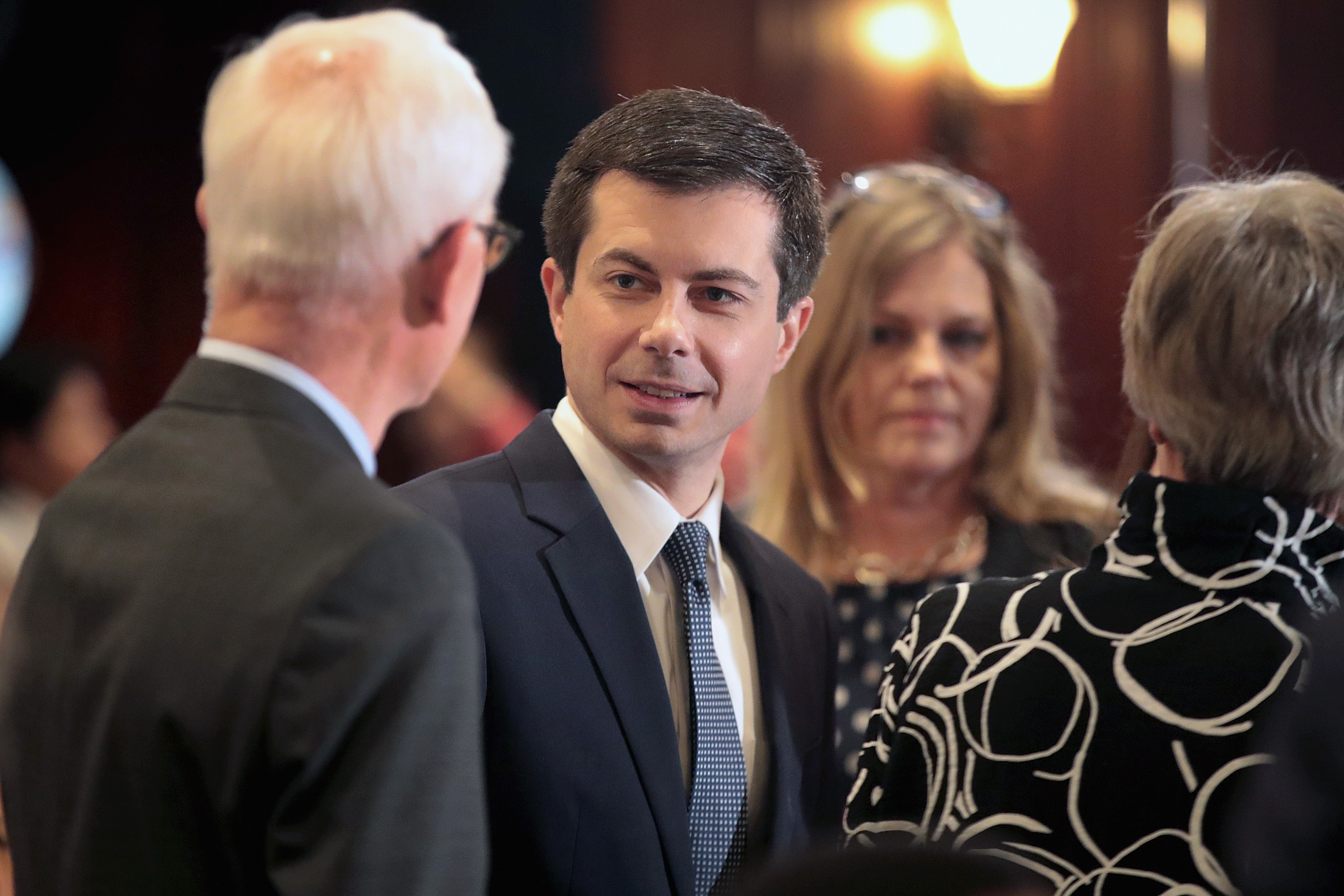 Pete Buttigieg shuts down a conservative talking point about abortion rights