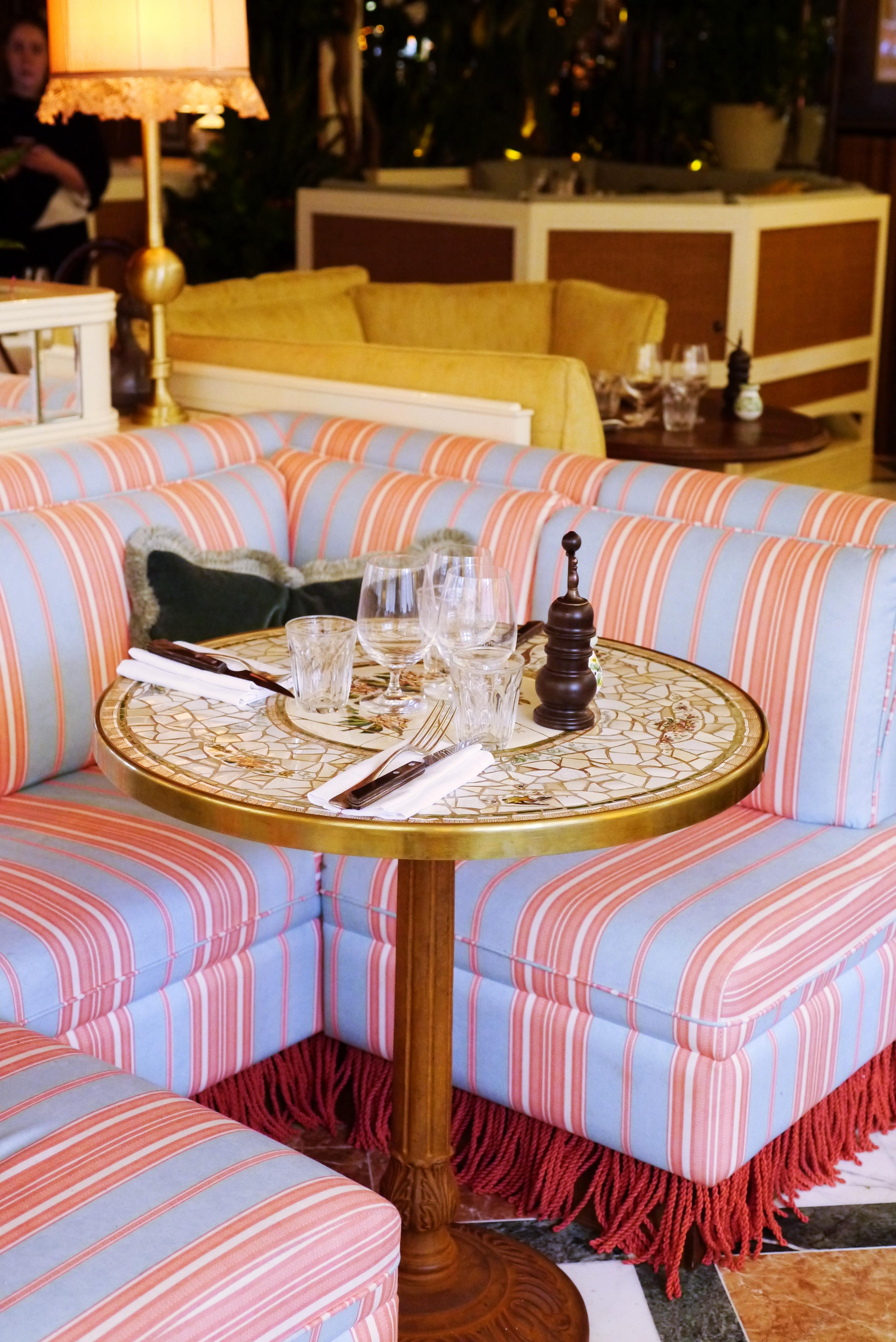 Gloria Italian restaurant from Big Mamma in Shoreditch: interiors at the trattoria