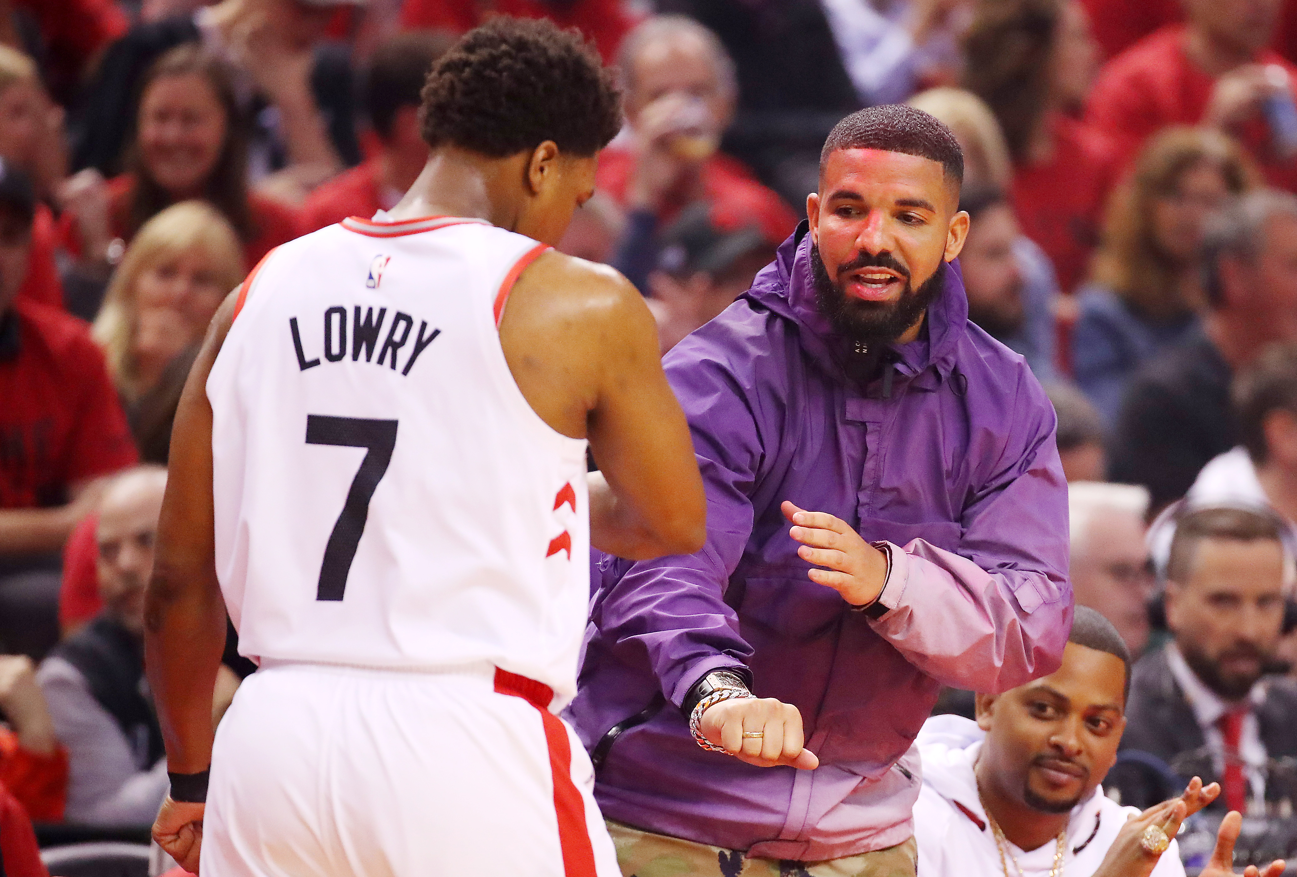 What do the Raptors say to the god of death? NOT TODAY