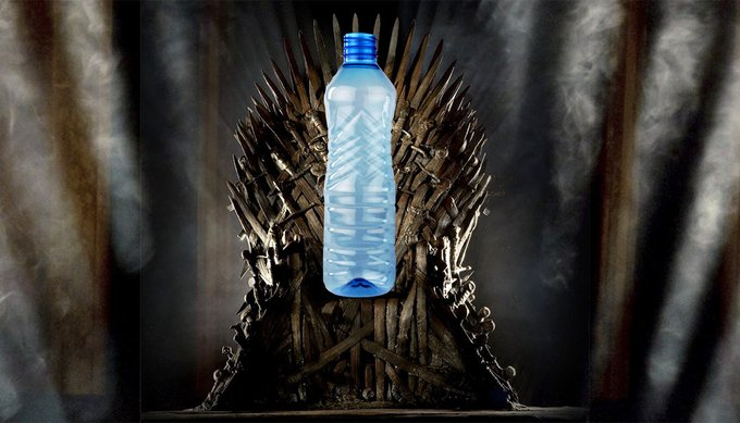 Game of Thrones' finale had another on-set snafu: plastic water bottles