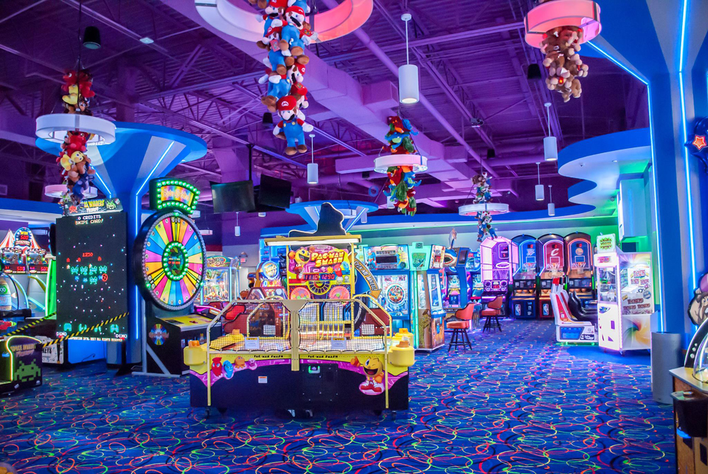 Kid-Friendly Arcade and Restaurant Debuts at Fashion Show