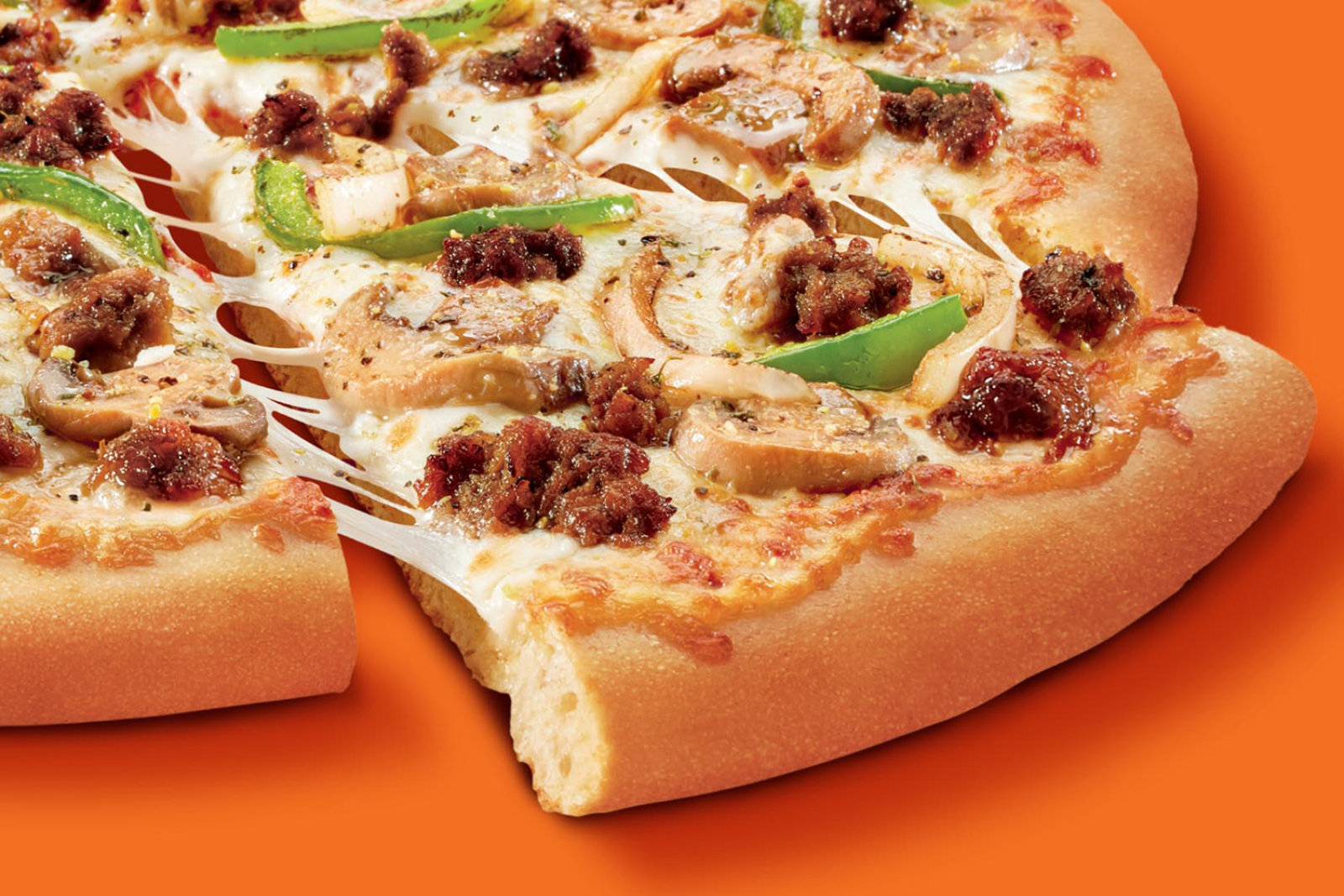 Little Caesars is the latest chain where you can try out meatless meat