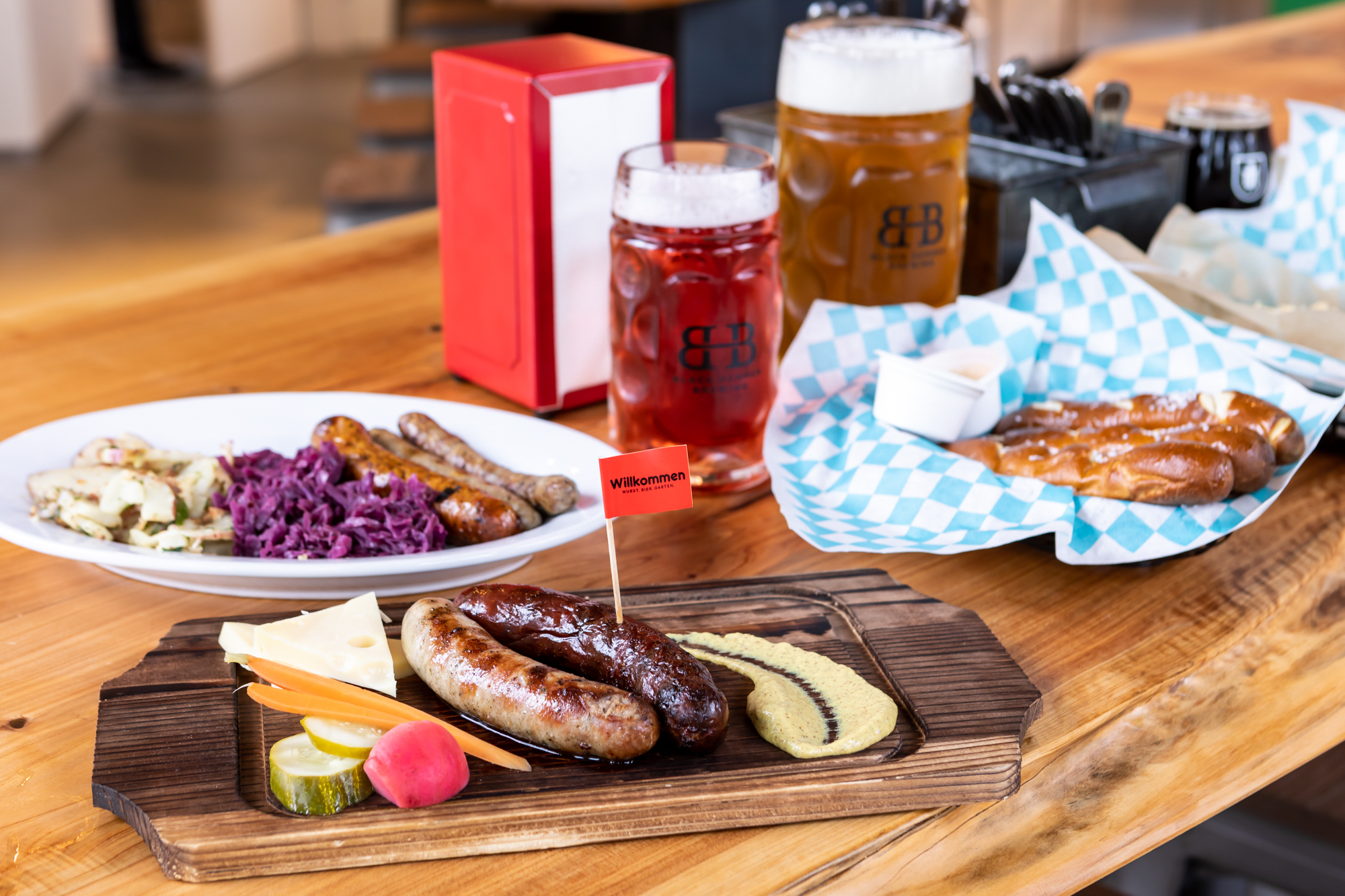 Burning Man-Inspired Brewery Opens Castro Beer Garden With Steins and Sausages