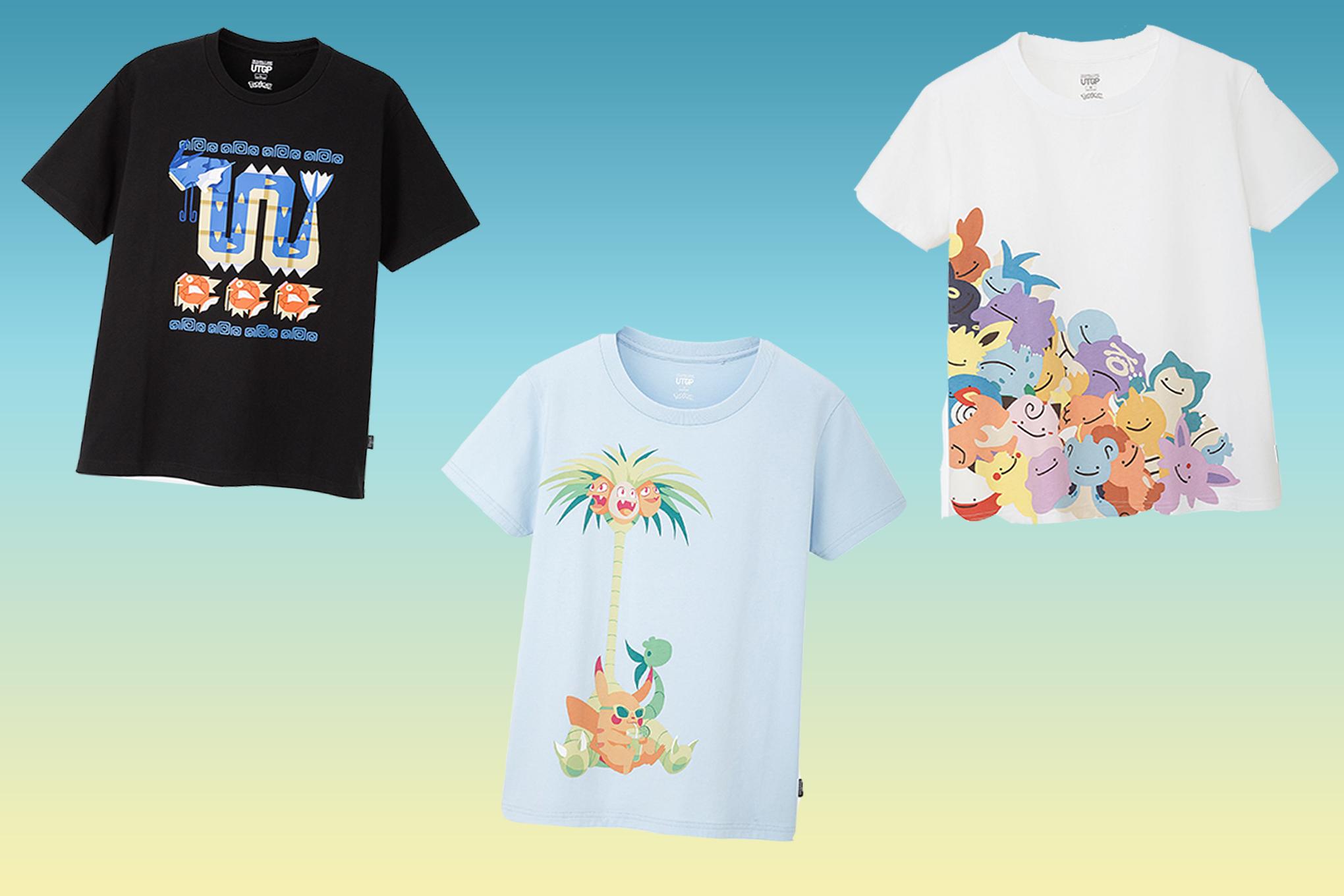 Uniqlo Pokémon T-shirt design contest winners crowned