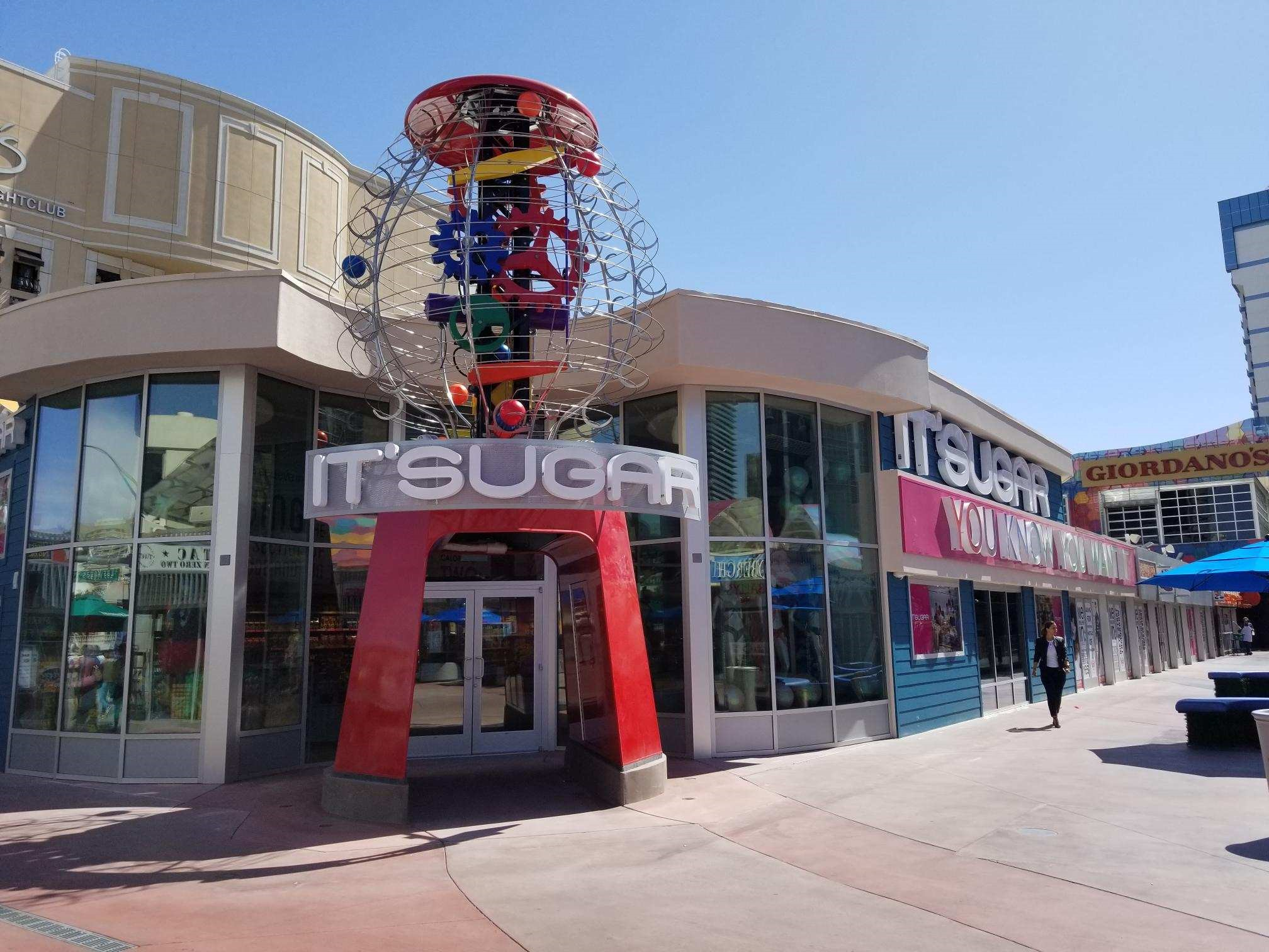 A Giant Gumball Machine Beckons Shoppers at This New Candy Shop