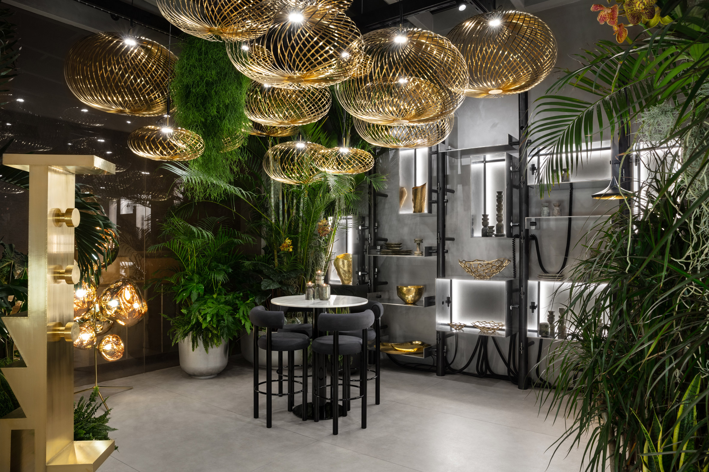 You can buy everything at Tom Dixon's new restaurant