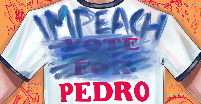 Napoleon Dynamite comic threatens to 'Impeach Pedro'