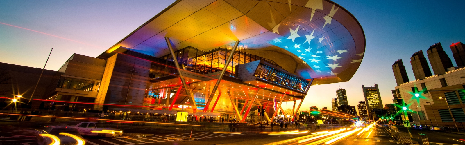 The Boston Convention and Exhibition Center in Boston's Seaport District