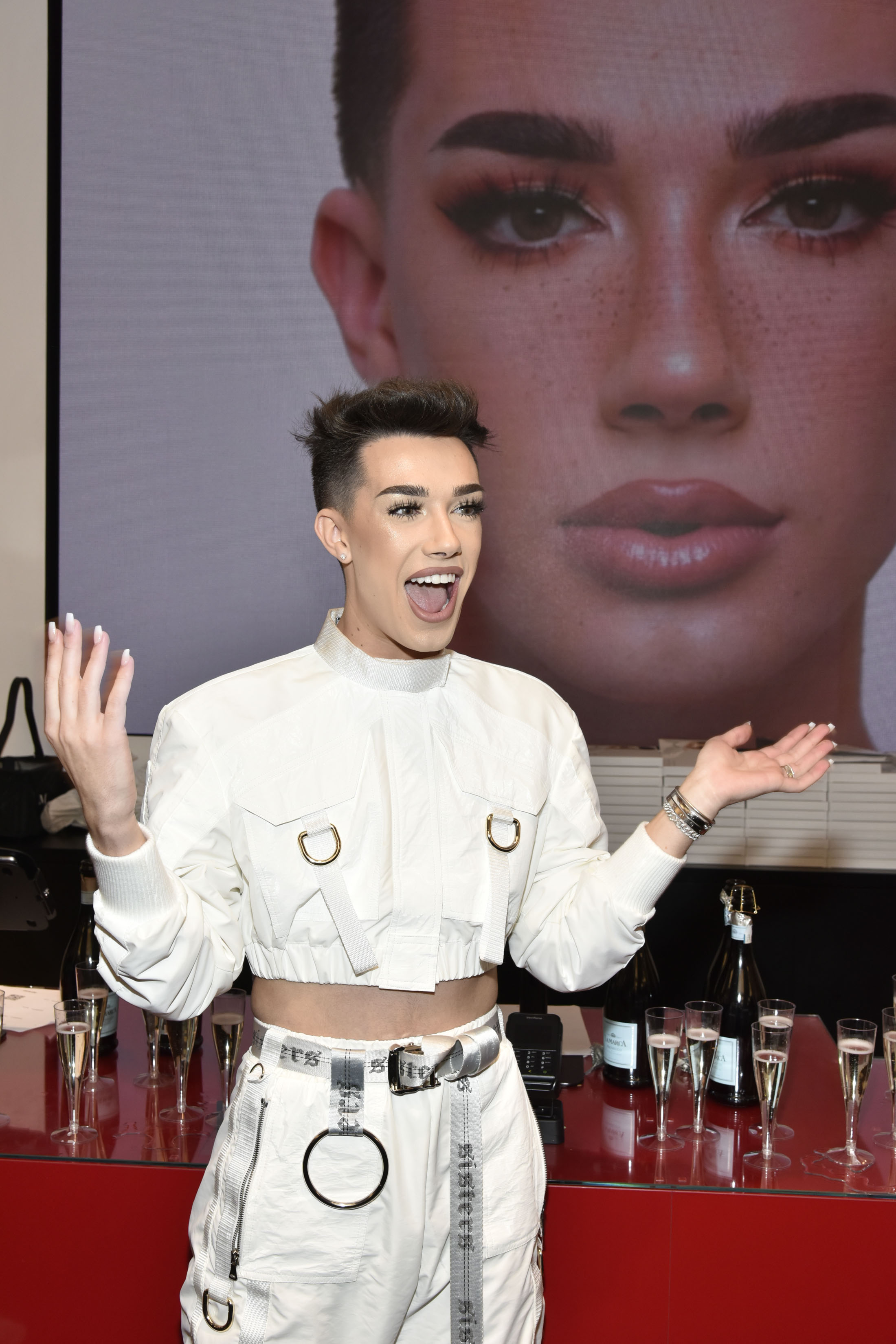 James Charles and Tati Westbrook have put their YouTube feud to rest — for now