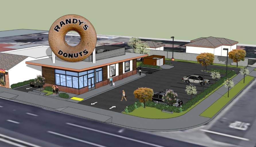 Randy's Plants a Giant Donut Hole in Downey This July