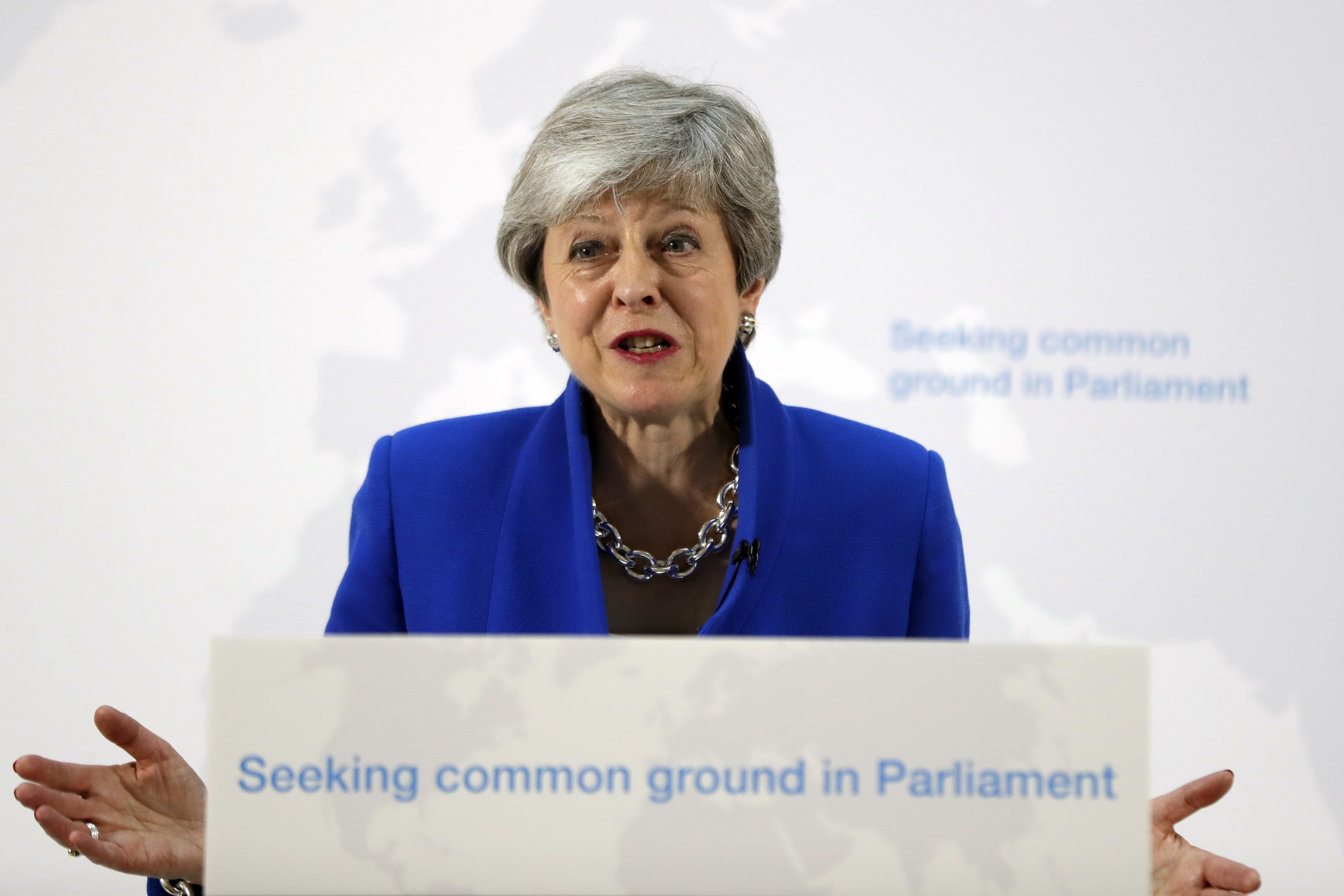 """Prime Minister Theresa May offers a """"new"""" Brexit plan, but nobody's buying it"""