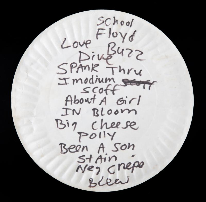 Kurt Cobain's Used Pizza Plate Selling for $22,400 at Auction Is the Least Grunge Thing Possible