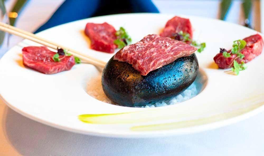 Wagyu beef at 1515 Restaurant