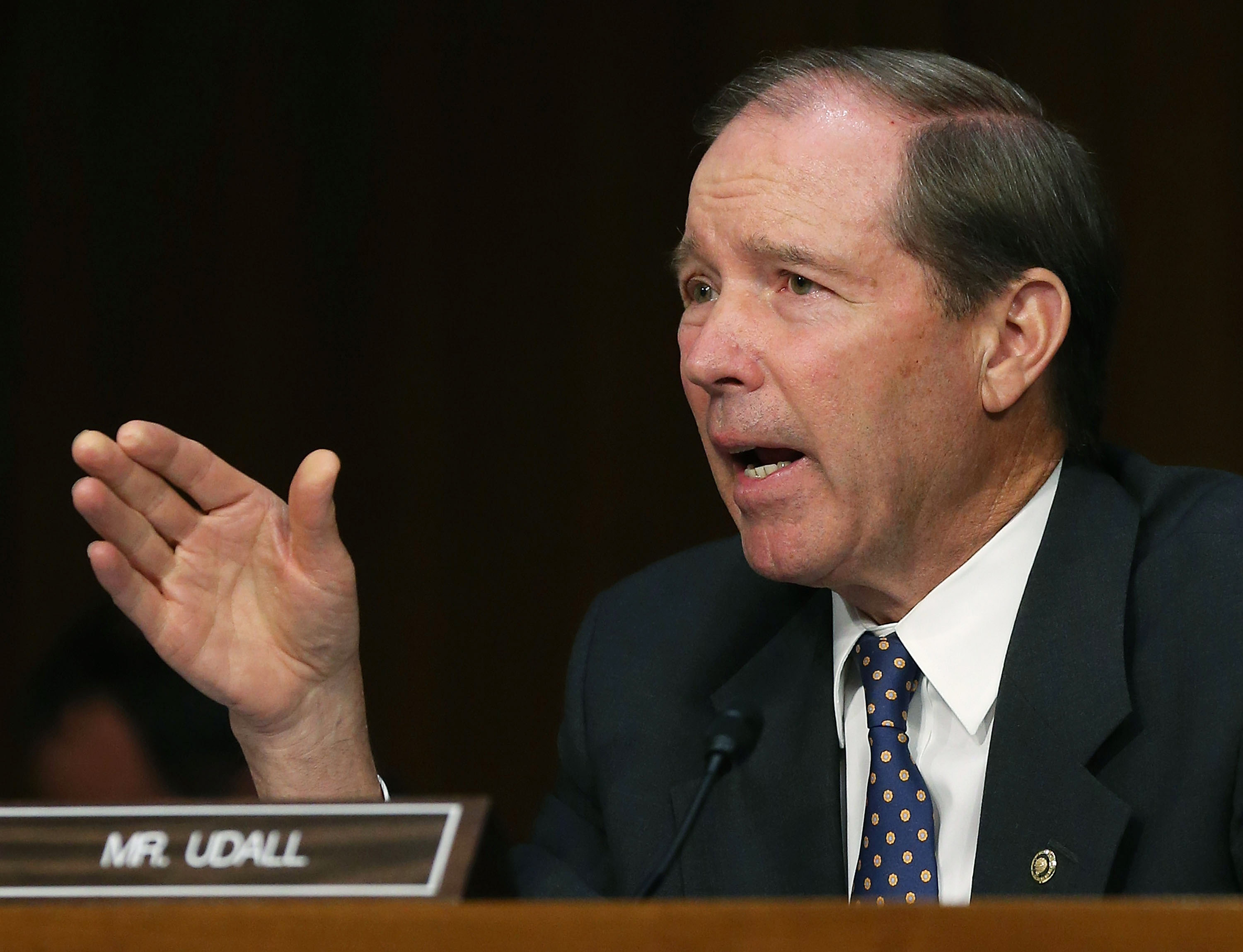 Exclusive: Sen. Tom Udall plans to force a vote to block funding for war with Iran