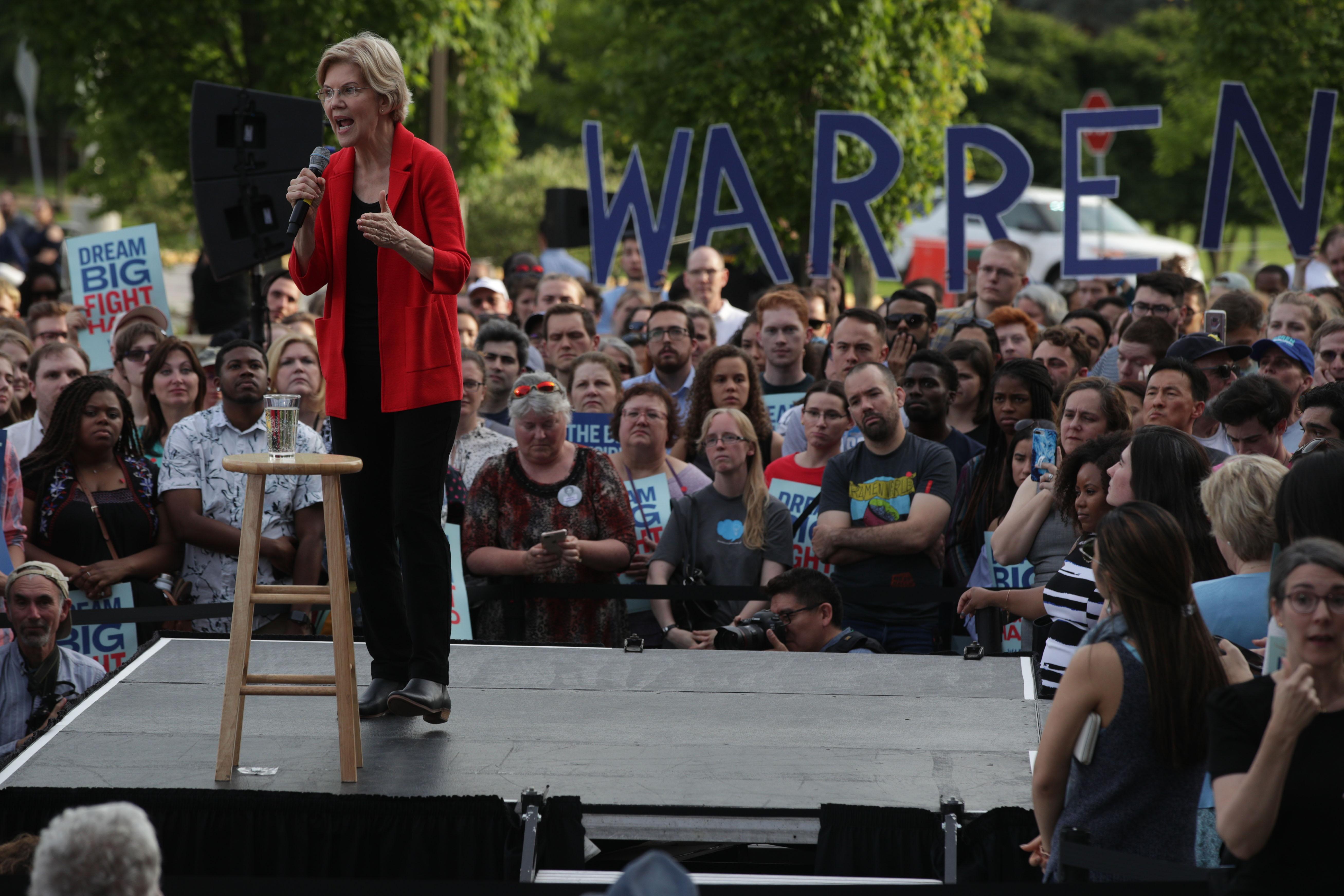 What's behind Elizabeth Warren's comeback in the polls