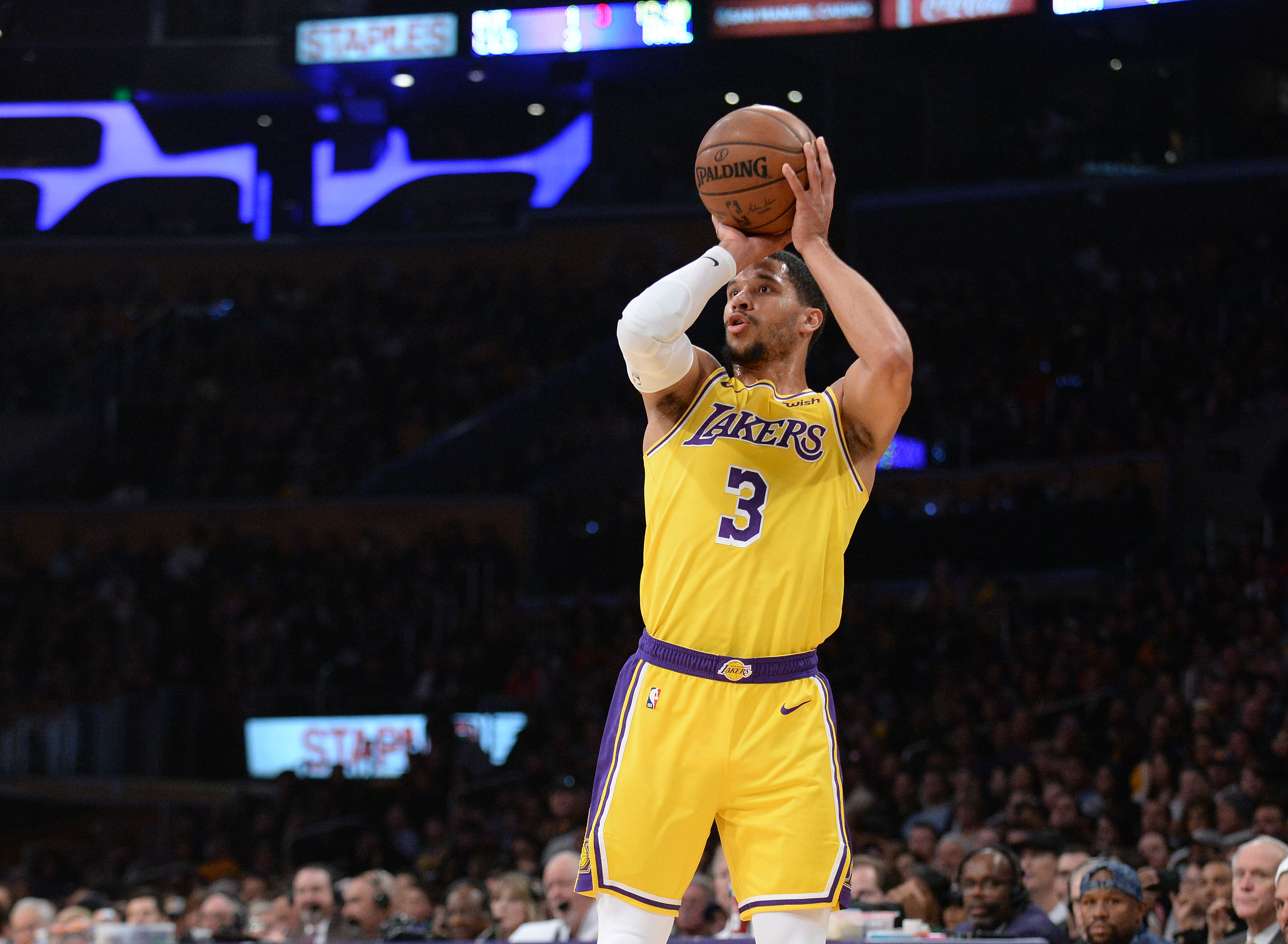d44cea60c Josh Hart says the Lakers prioritizing playmakers over shooting made  on-court fit  weird