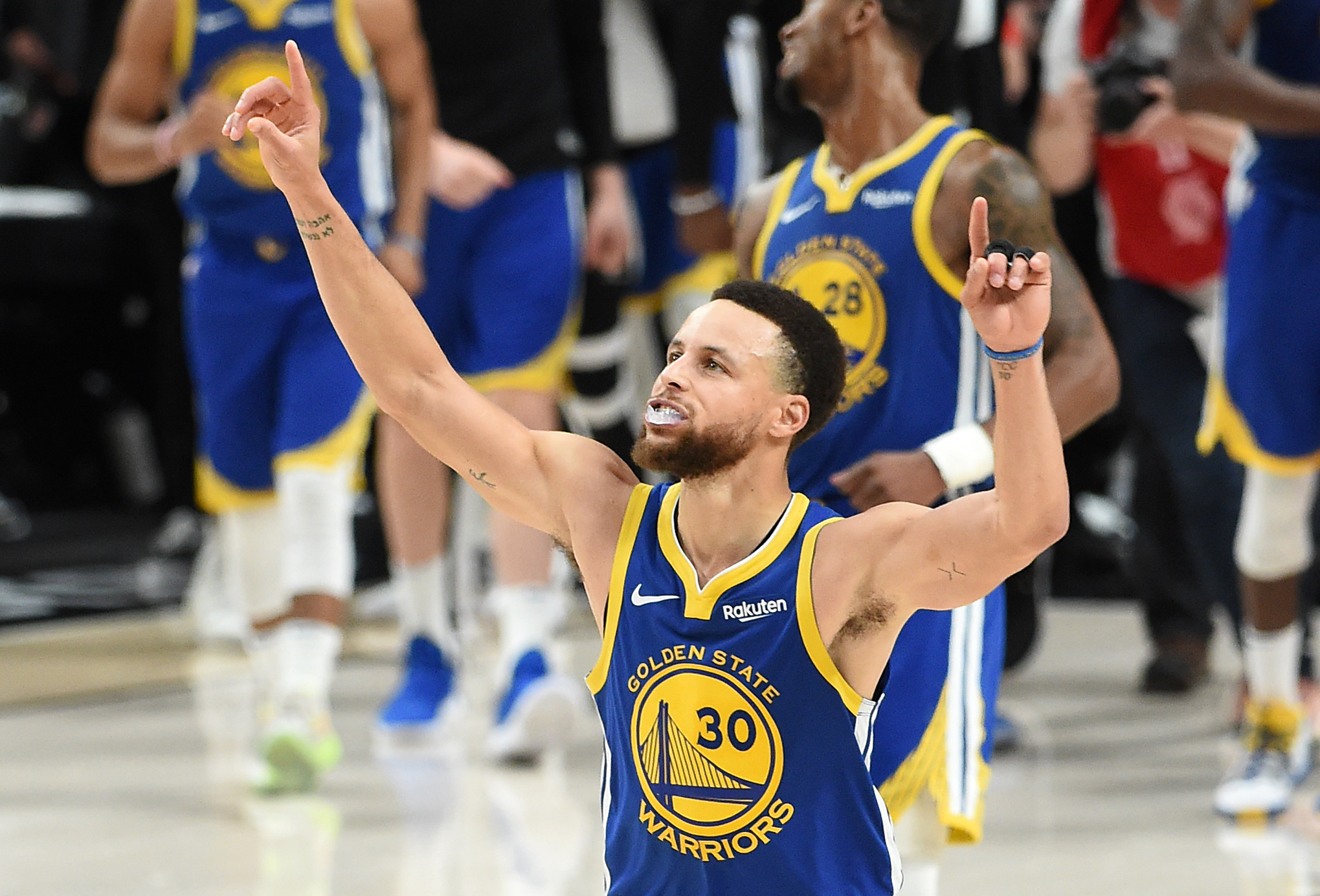 The Warriors' 5-year NBA Finals streak is amazing on every level