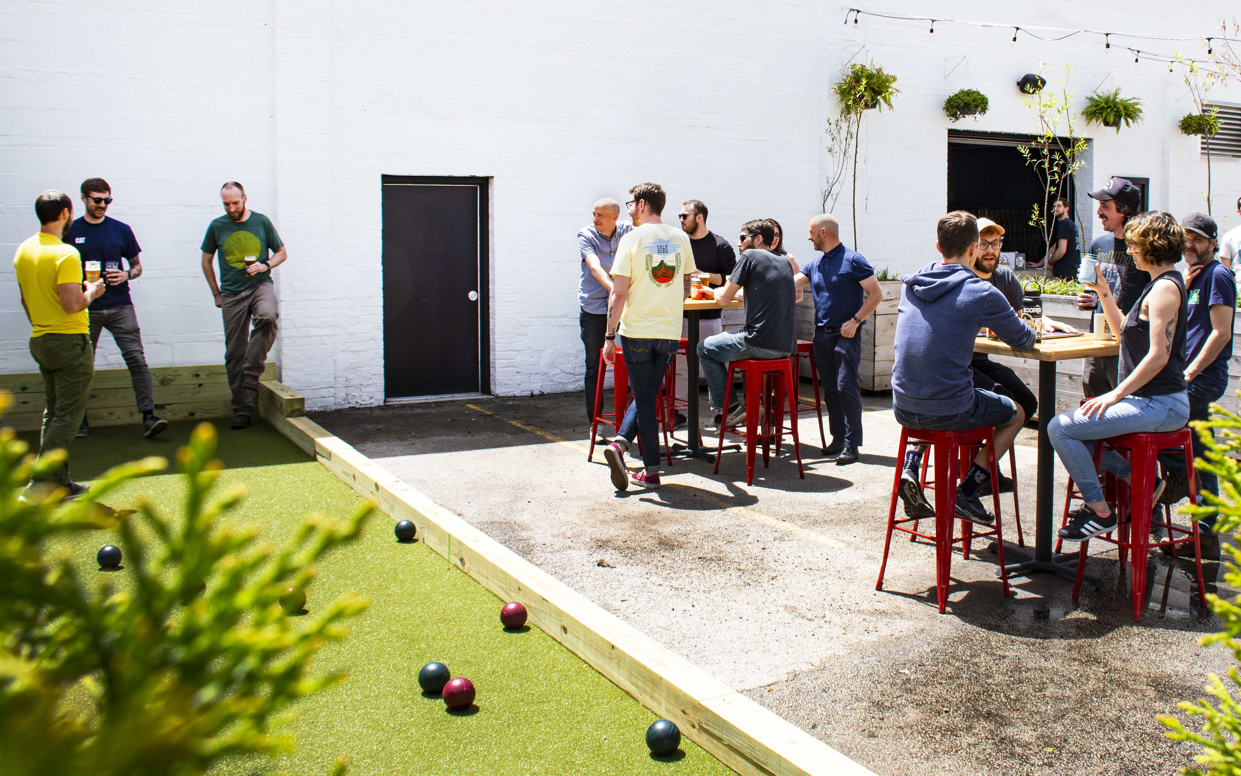 Essential Brewery Half Acre to Unveil a Bocce Court and Revamped Beer Garden